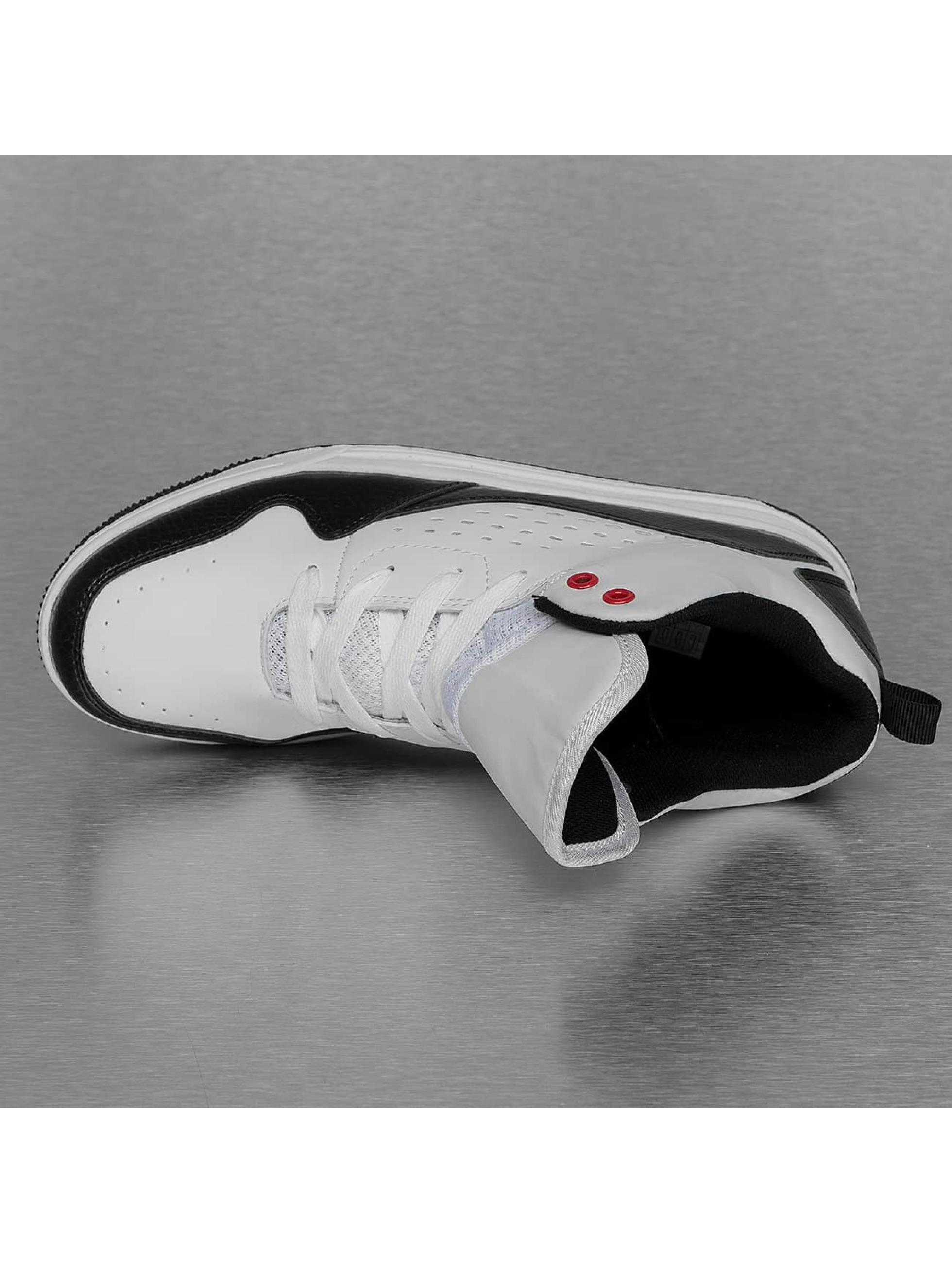 New York Style Sneakers Mid Top white