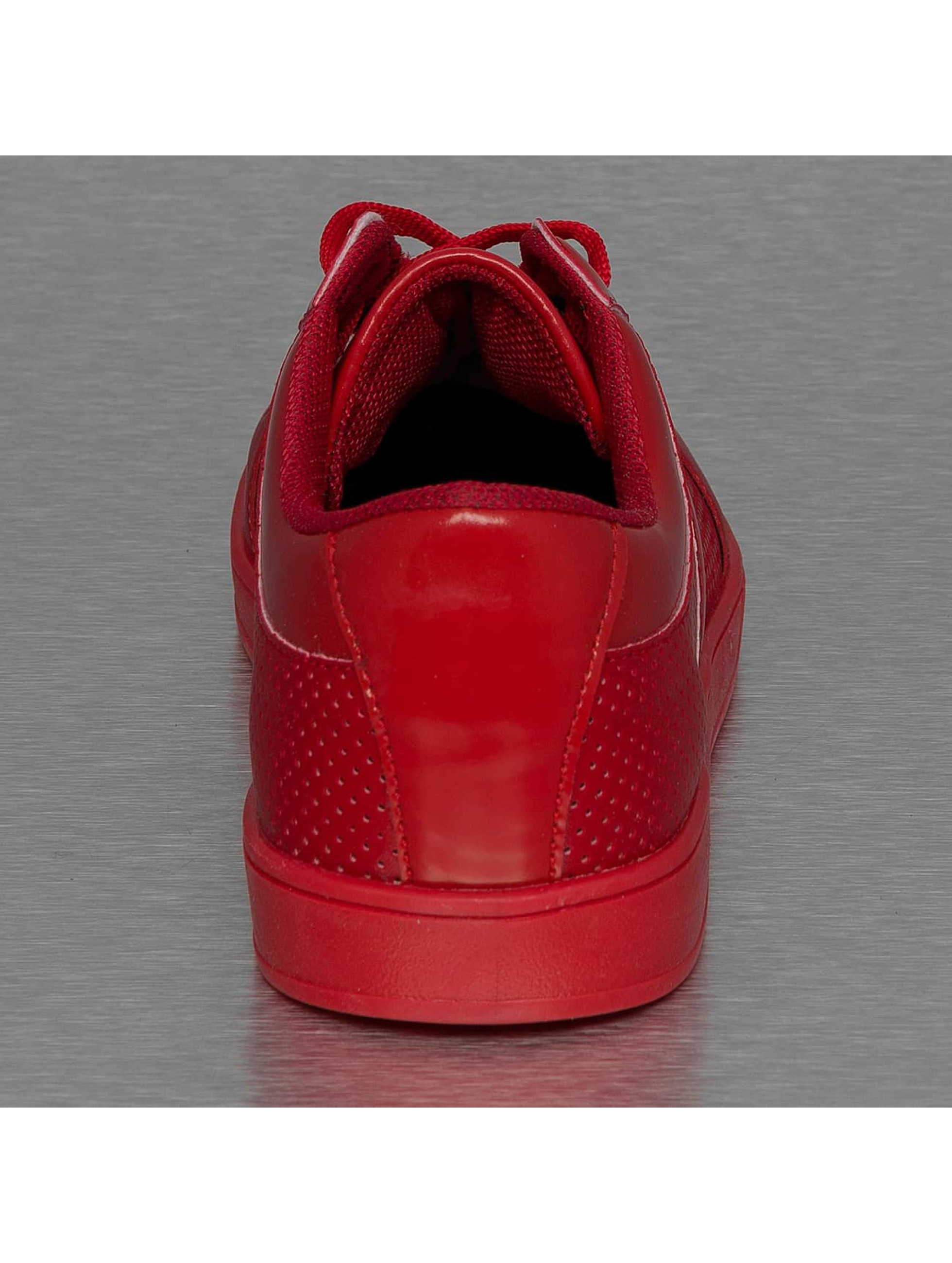 New York Style Tøysko Perforated Pattern red