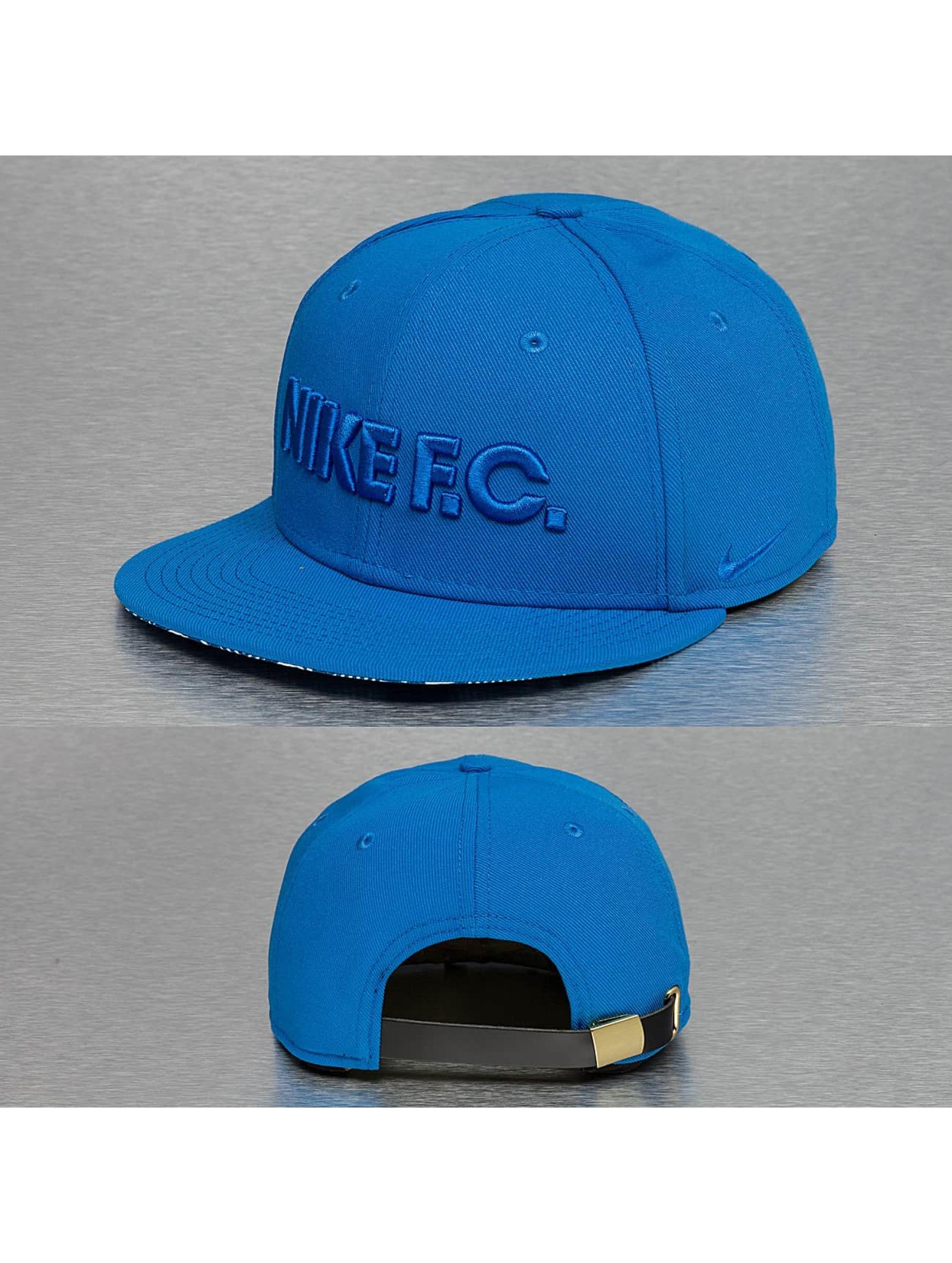 Nike Кепка с застёжкой FC True синий