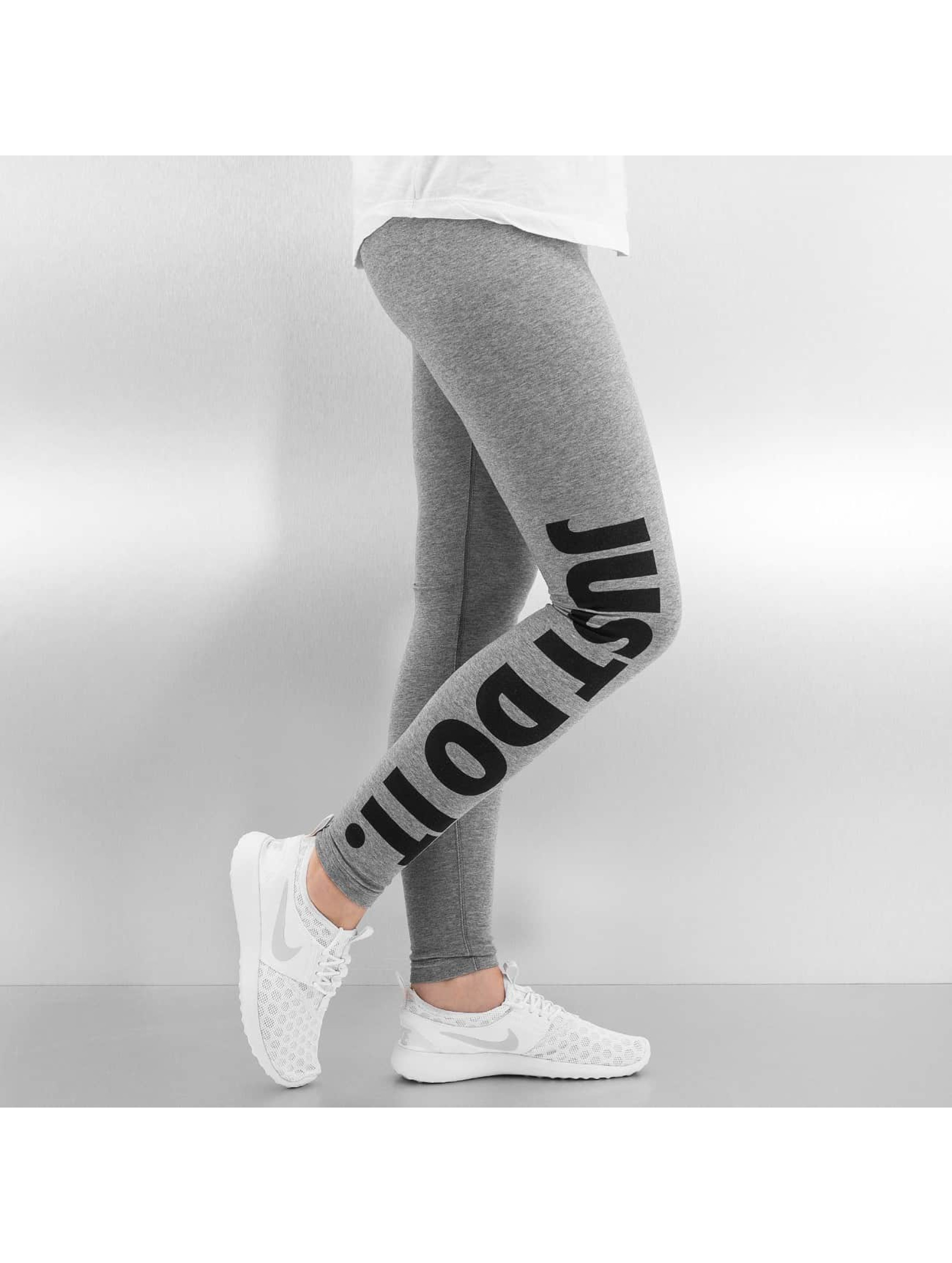 Nike Леггинсы Leg-A-See Just Do It серый