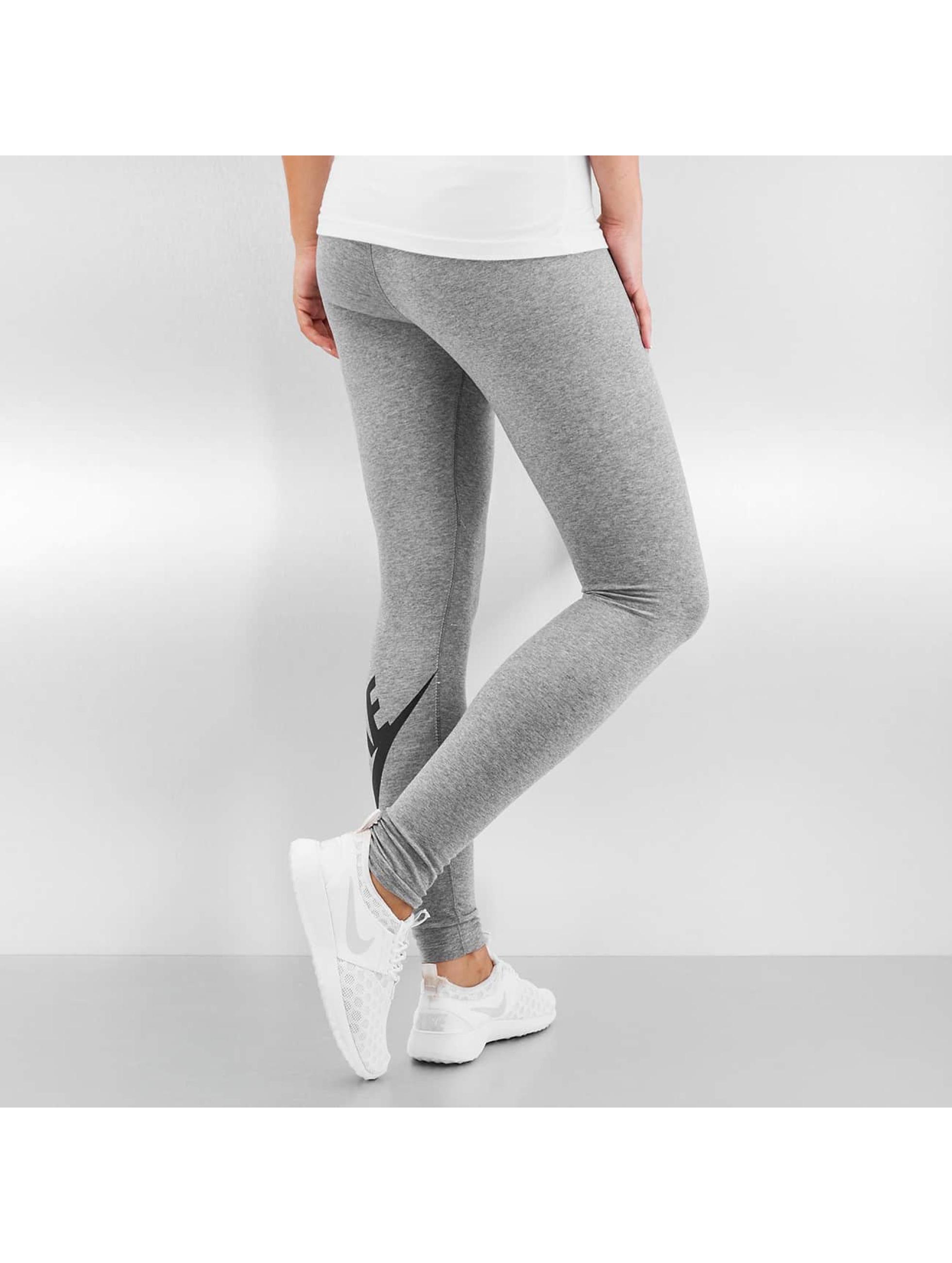 Nike Леггинсы Leg-A-See Logo серый