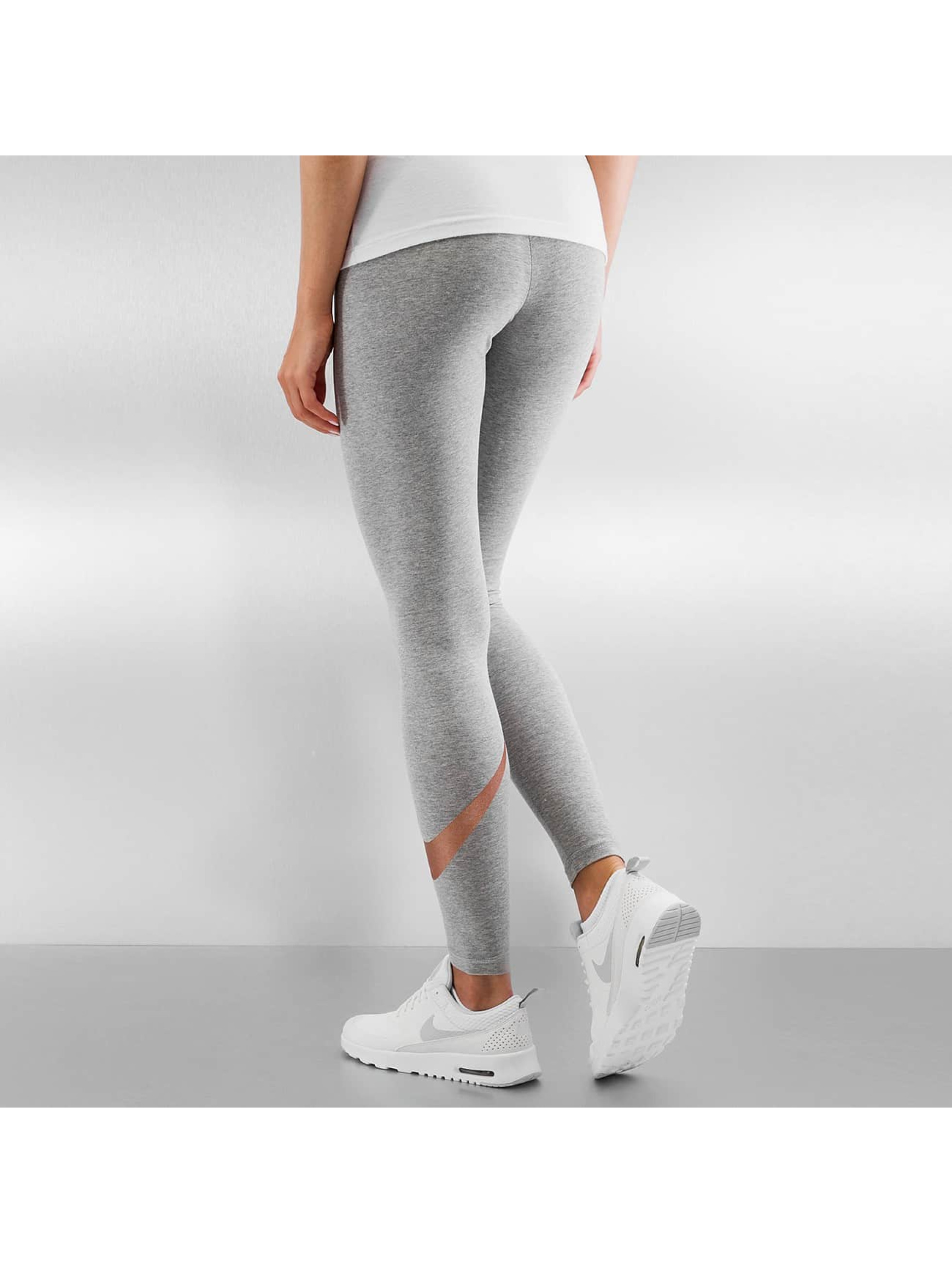 Nike Леггинсы Club Logo 2 серый