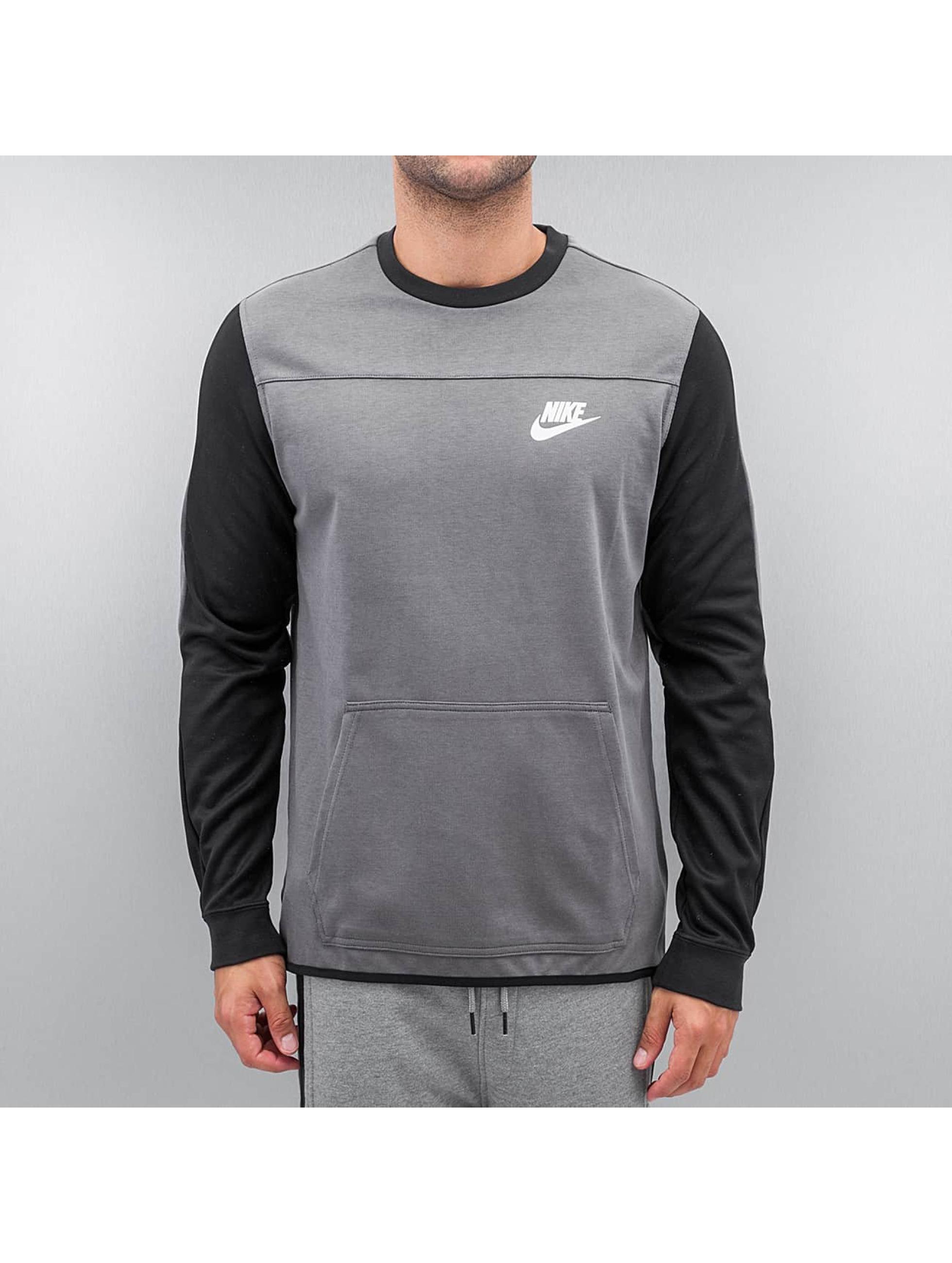 Nike Пуловер Sportswear Advance 15 серый