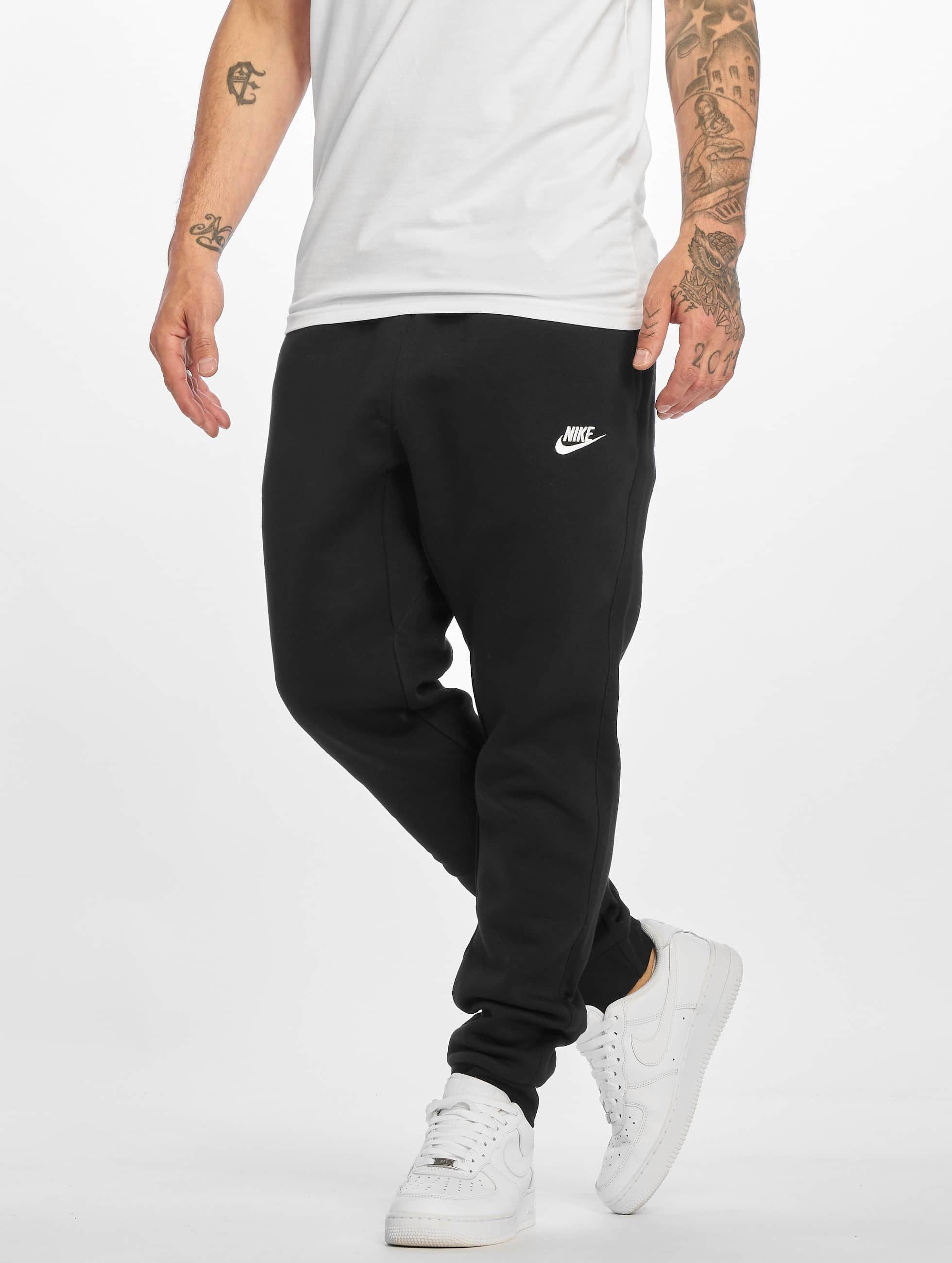Nike Спортивные брюки NSW FLC CLUB черный