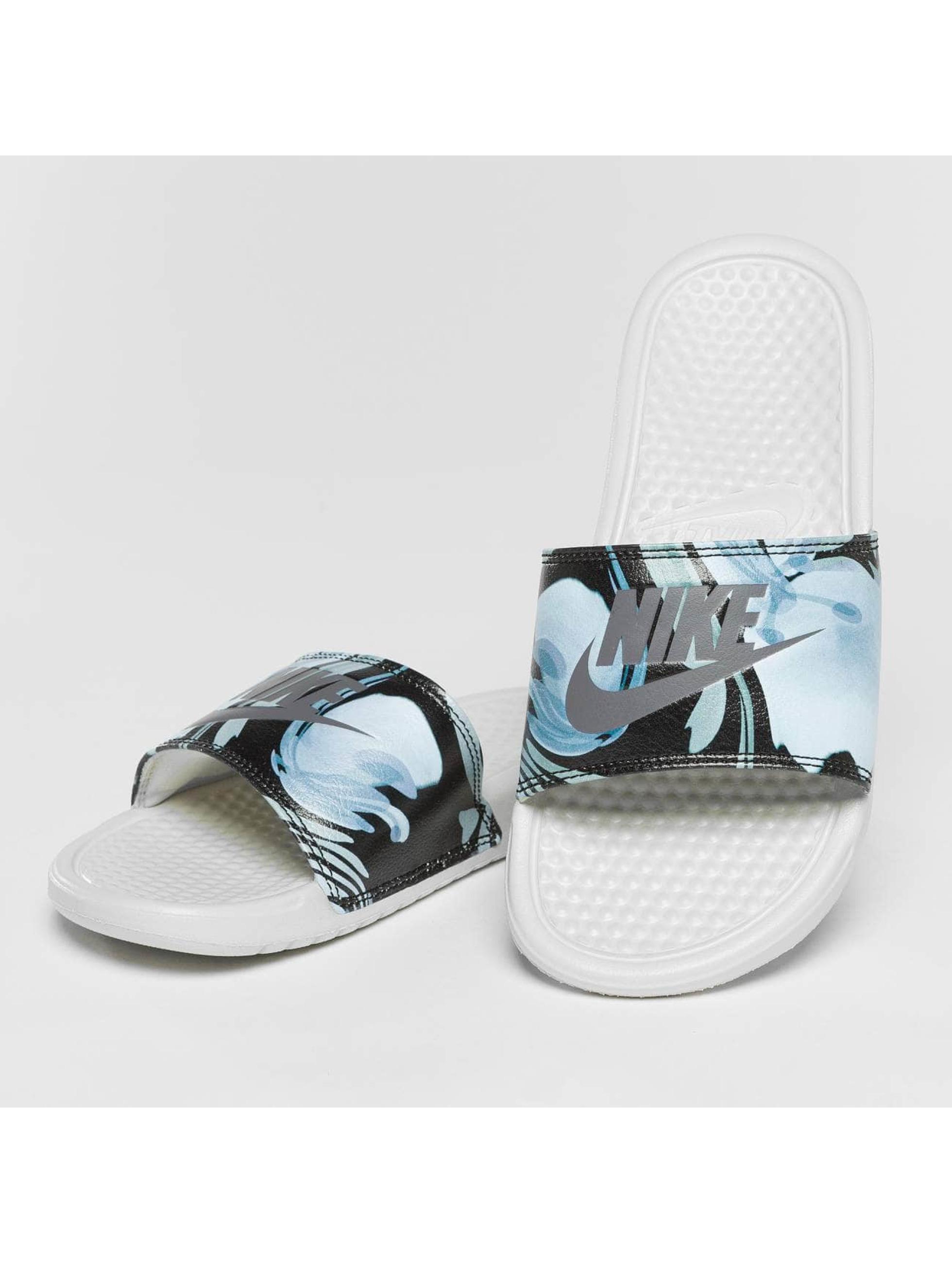 Nike Badesko/sandaler Benassi Just Do It hvit