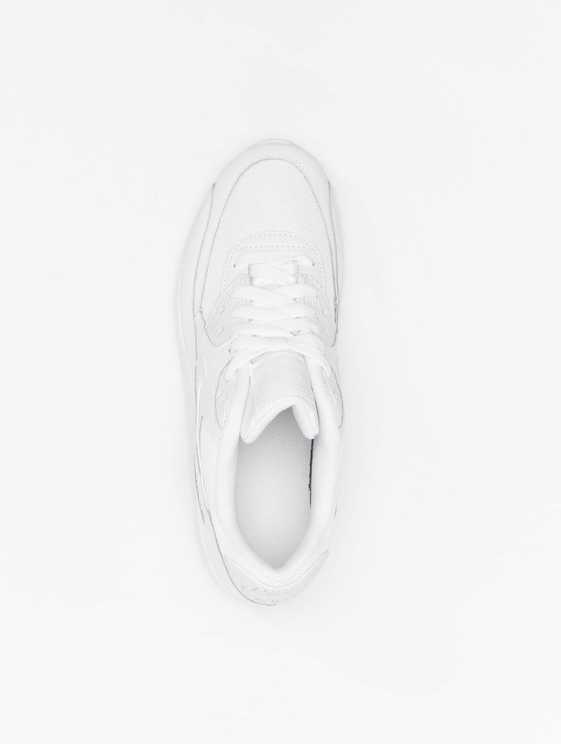Nike Baskets Air Max 90 Mesh (GS) blanc