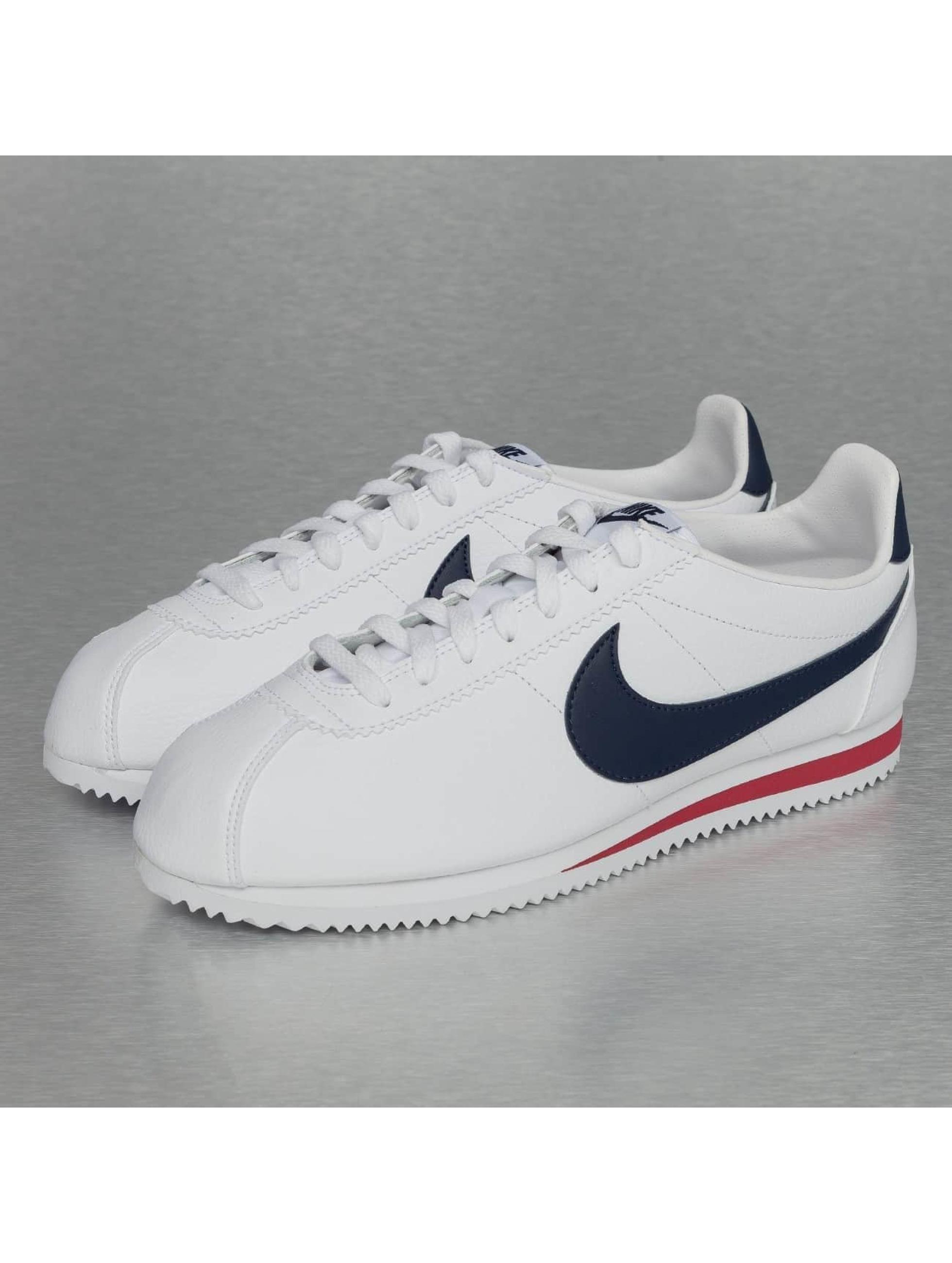 Nike Cortez Blanc Rouge Bleu