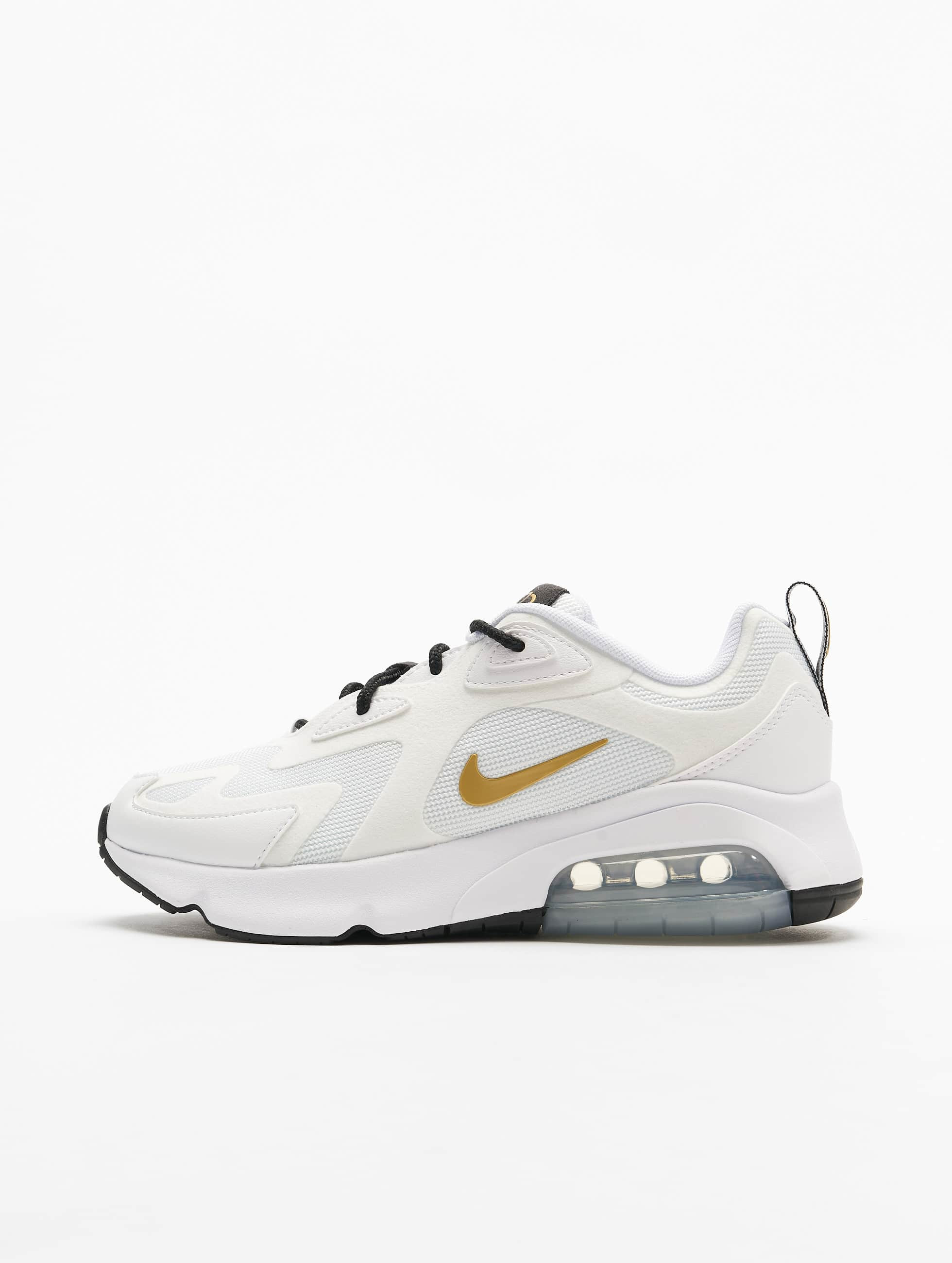 Nike Air Max 200 Sneakers White/Metallic Golden/Black
