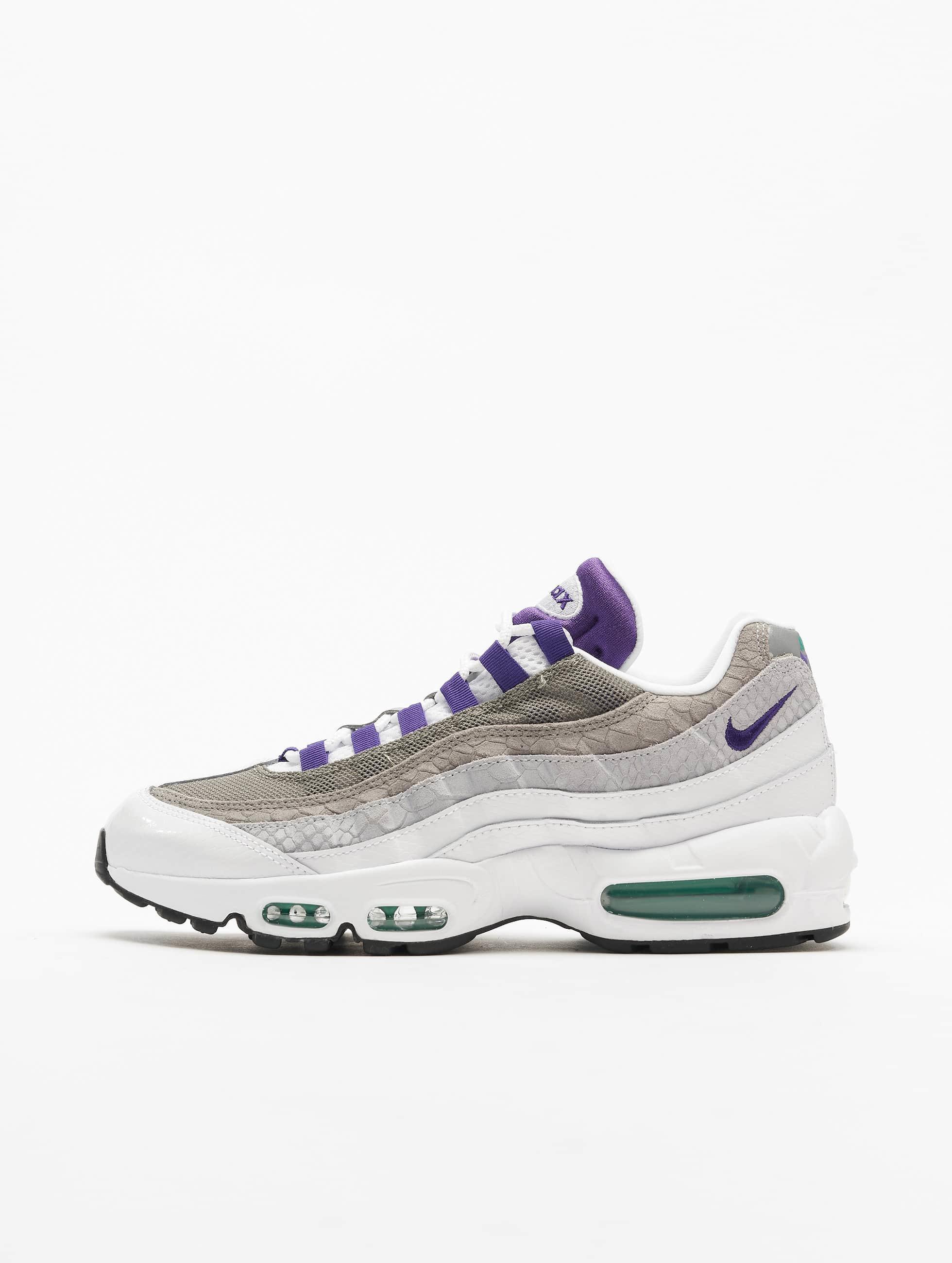 Nike Air Max 95 LV8 Sneakers WhiteCourt PurpleEmerald Green