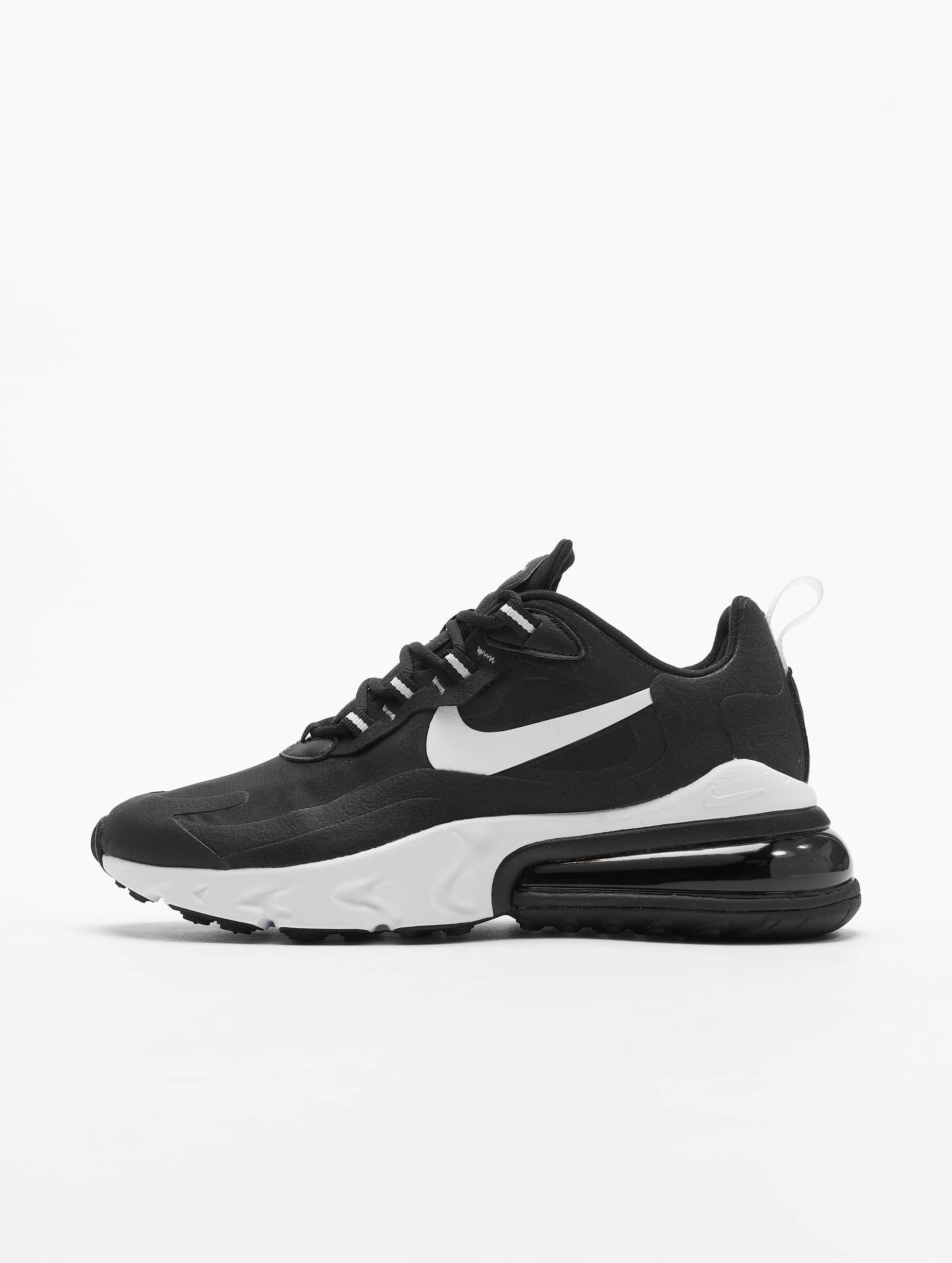 Nike Air Max 270 React Sneakers BlackWhiteBlack