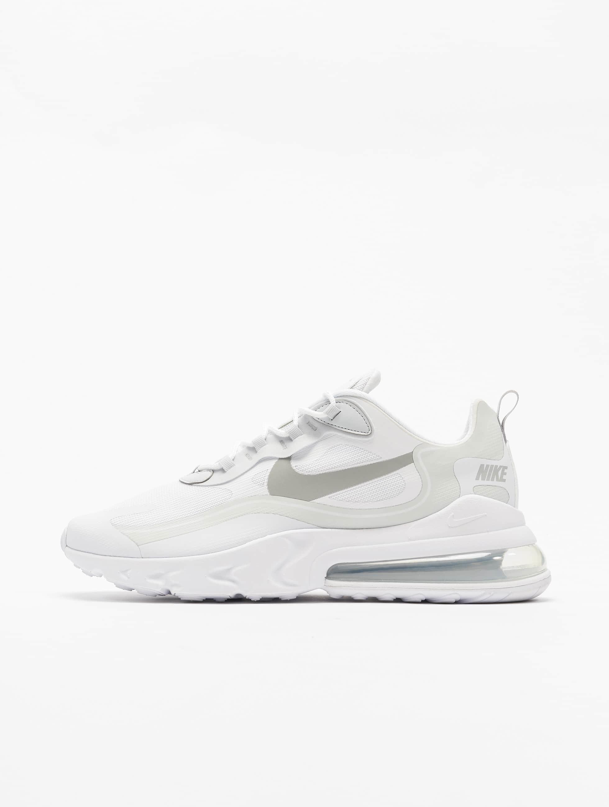 Nike Air Max 270 React Sneakers WhiteLt Smoke GreyPure Platinum