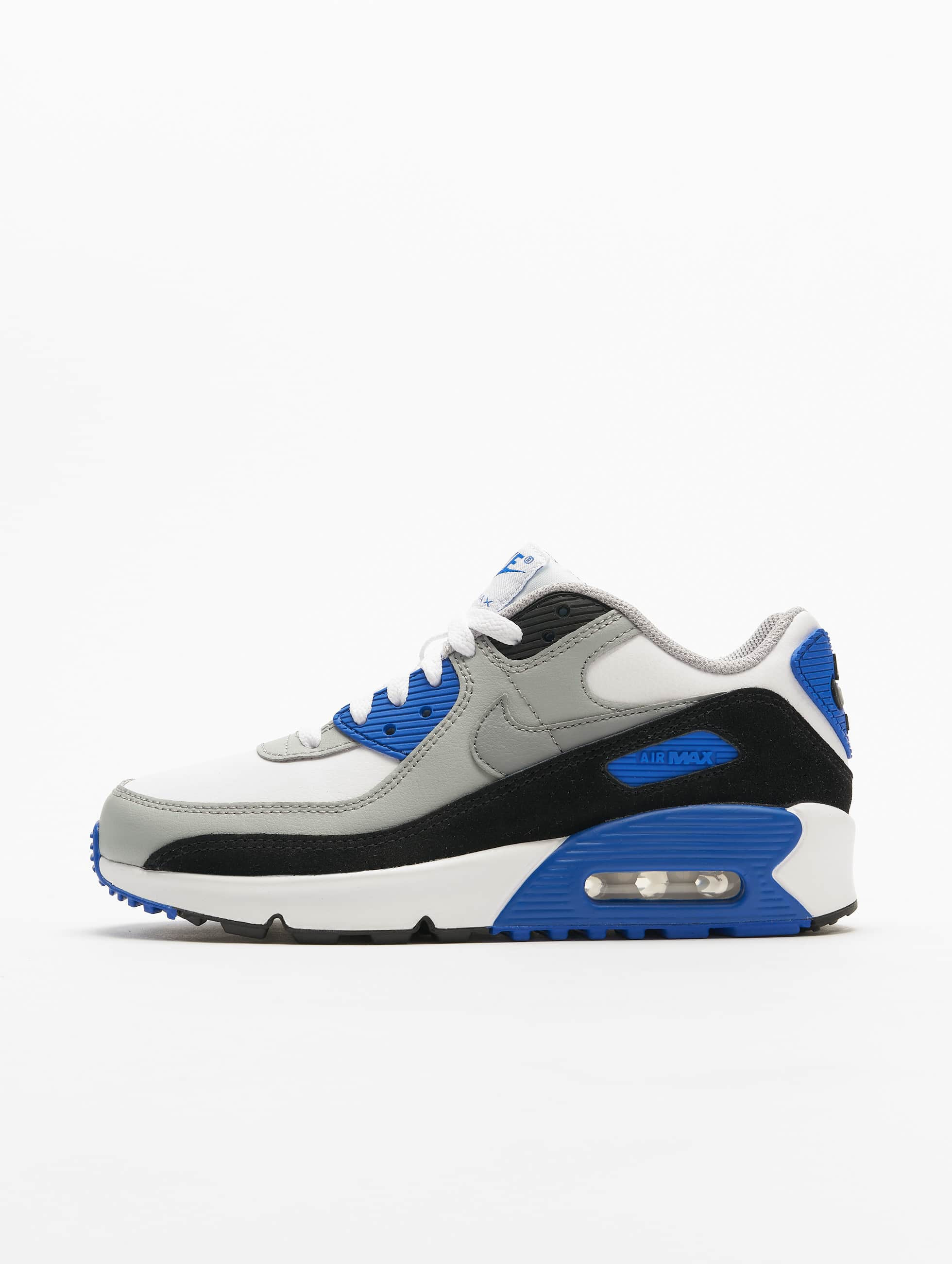 Nike Air Max 90 LTR (GS) Sneakers WhiteParticle GreyLt Smoke Grey
