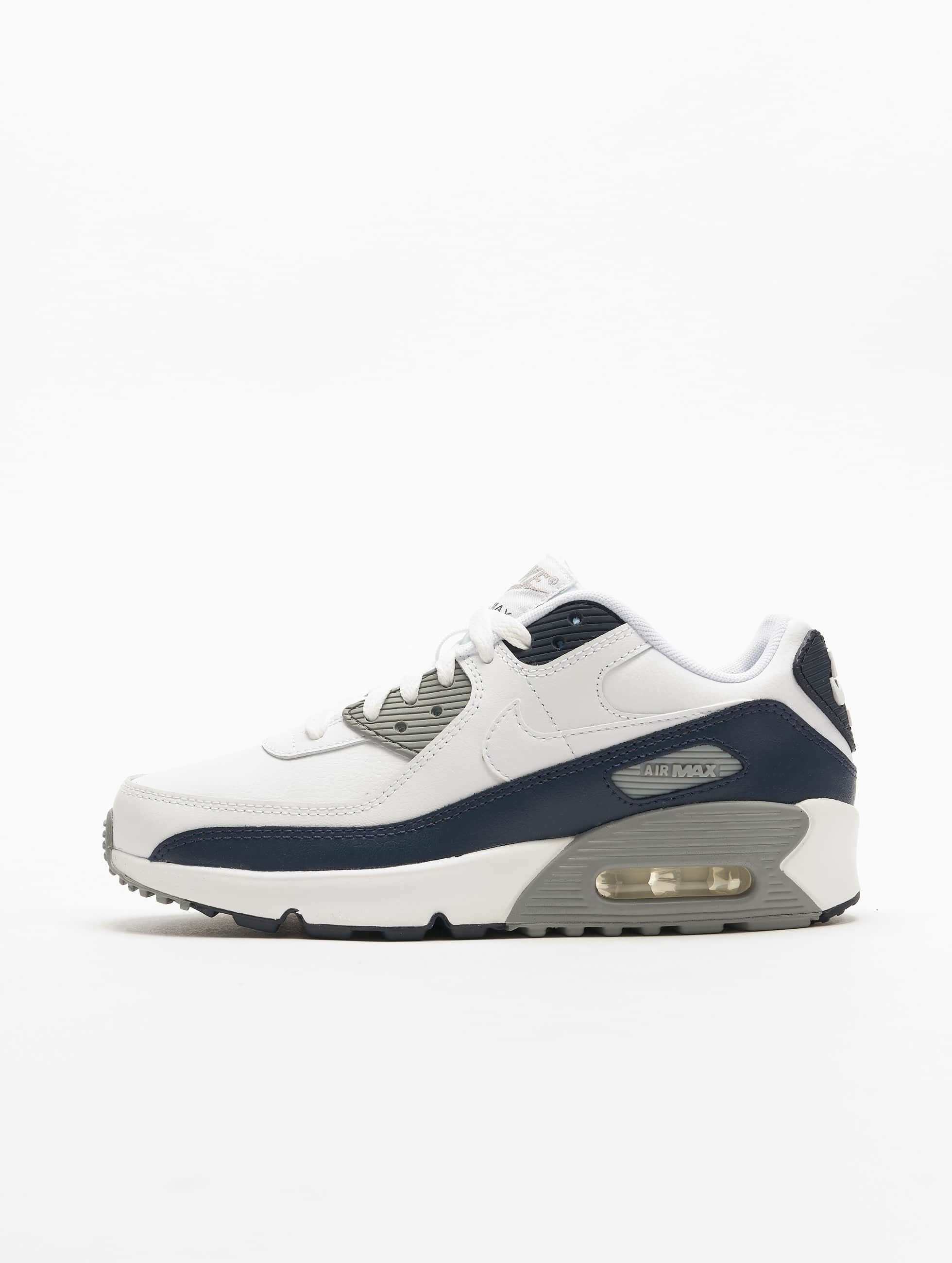 Nike Air Max 90 LTR (GS) Sneakers WhiteWhiteParticle GreyObsidian