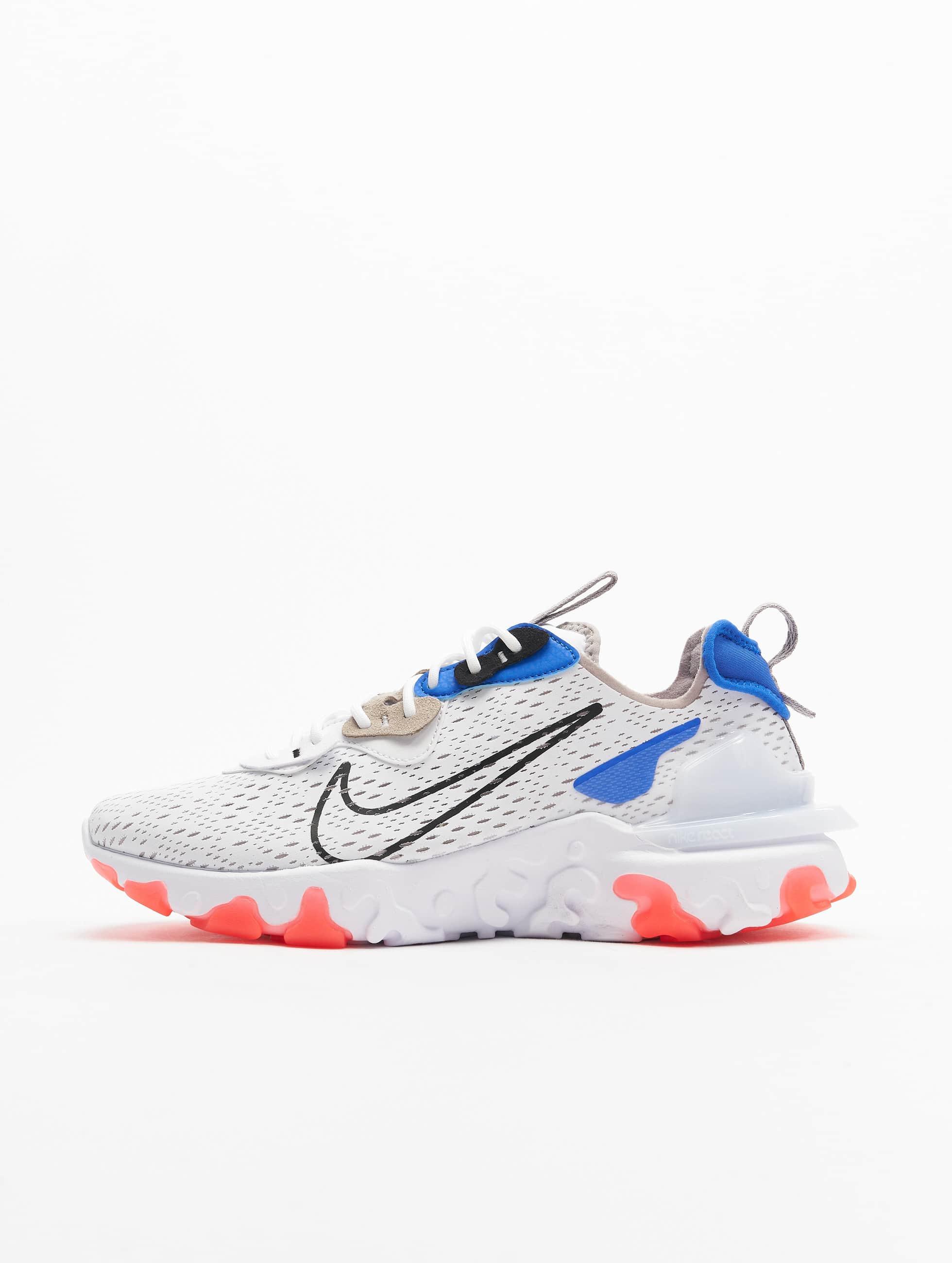 Nike React Vision Sneakers White/Black/Racer Blue/Bright Crimson