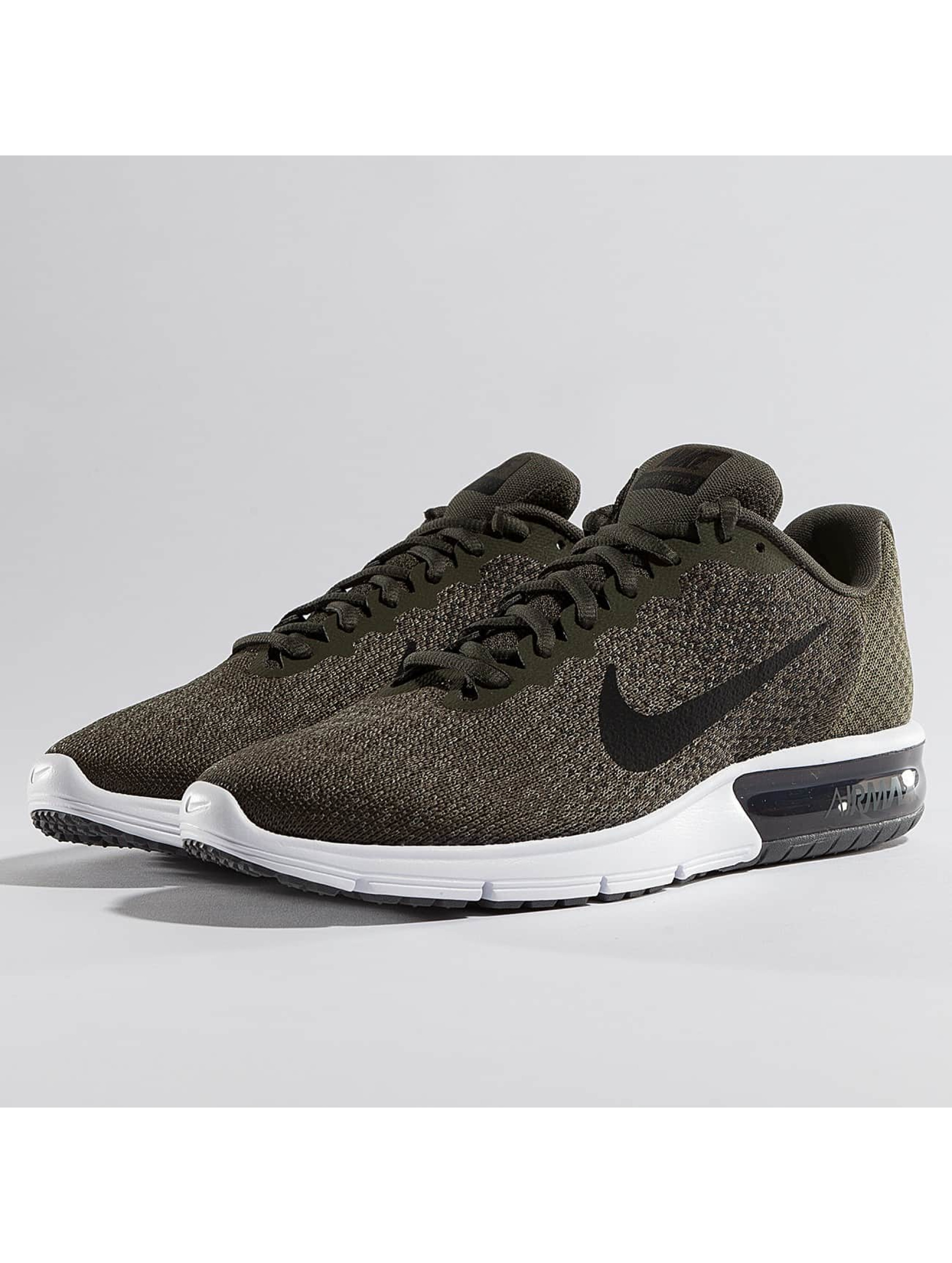 nike air max sequent 2 kaki homme baskets nike acheter pas cher chaussures 334016. Black Bedroom Furniture Sets. Home Design Ideas