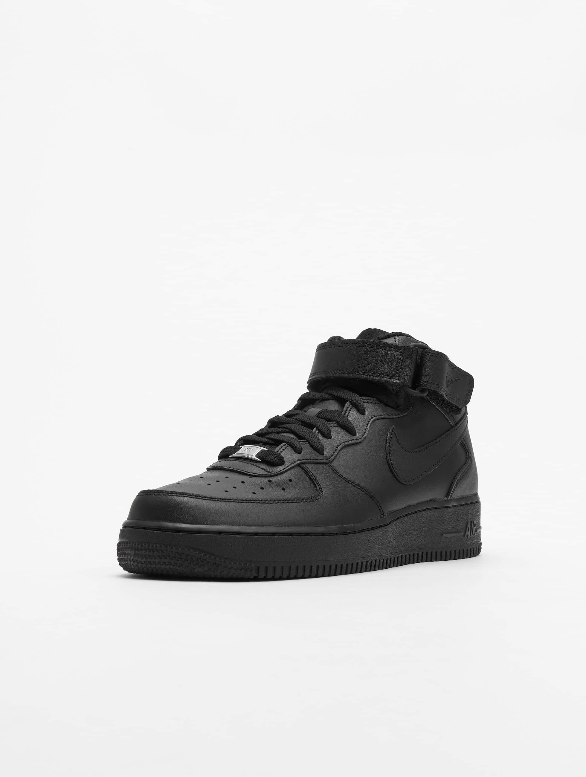Nike Baskets Air Force 1 Mid '07 Basketball Shoes noir