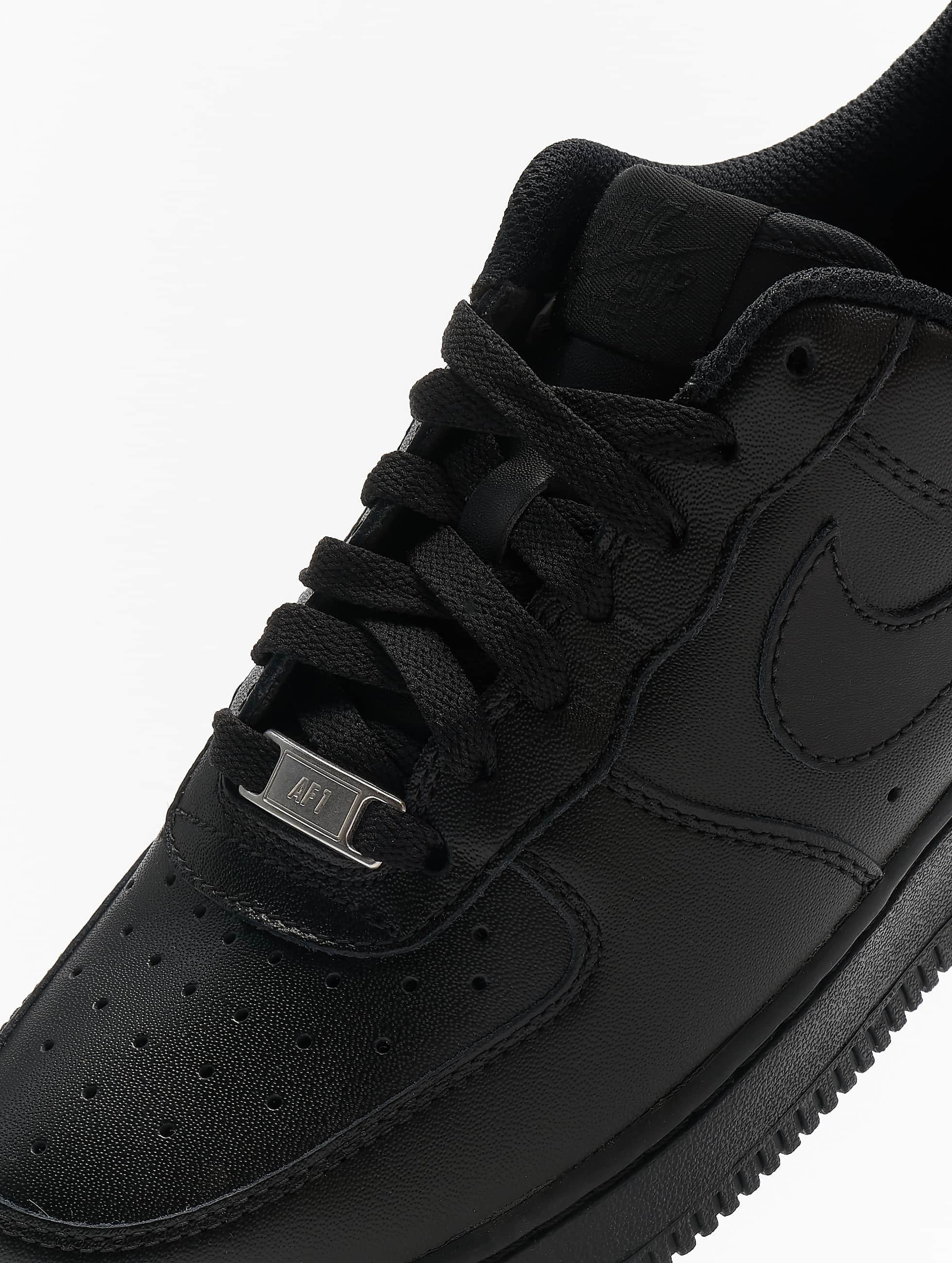 Nike Baskets Air Force 1 '07 Basketball Shoes noir