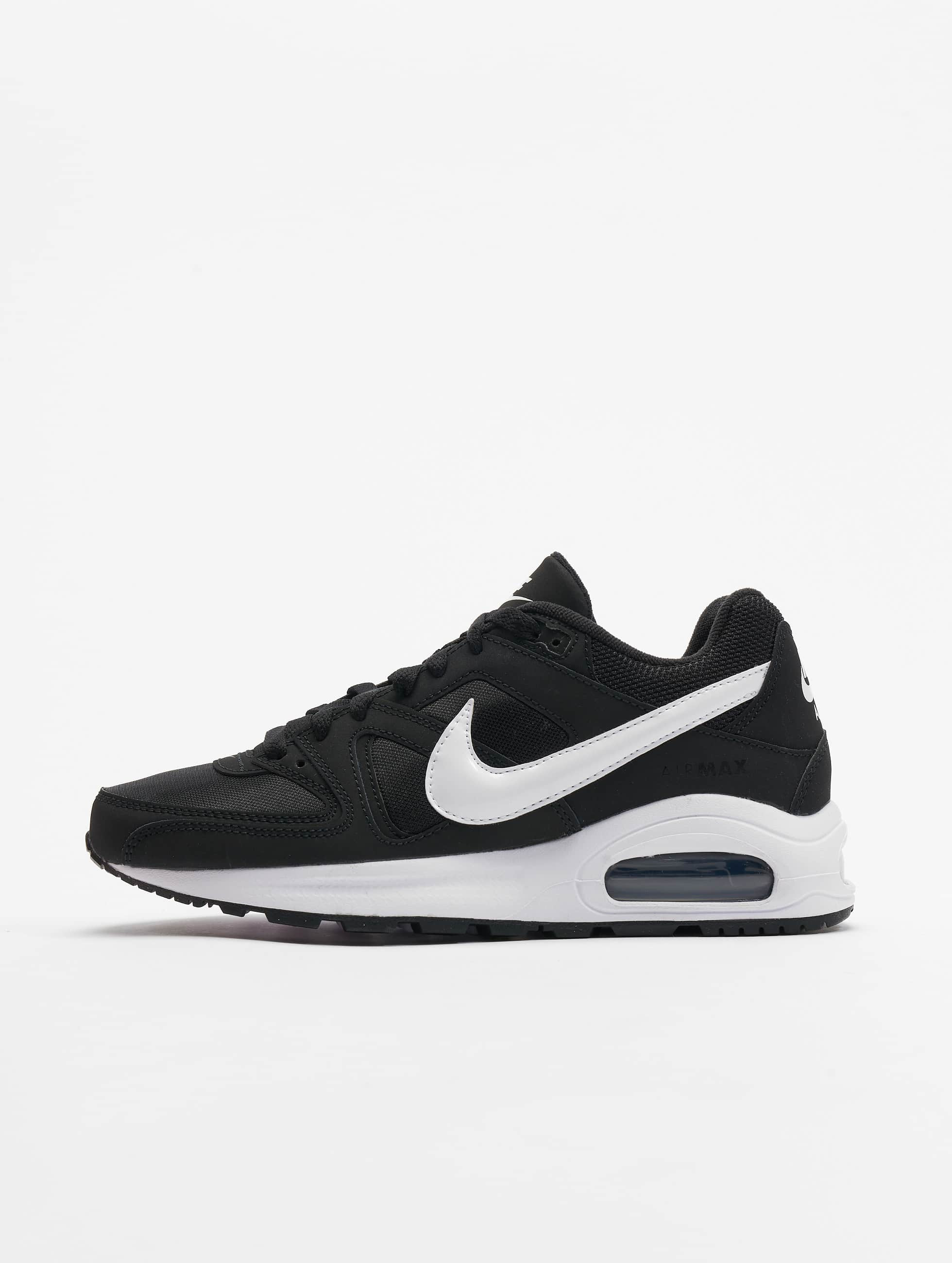 wholesale details for fast delivery Nike Air Max Command Flex (GS) Sneakers Black/White/White