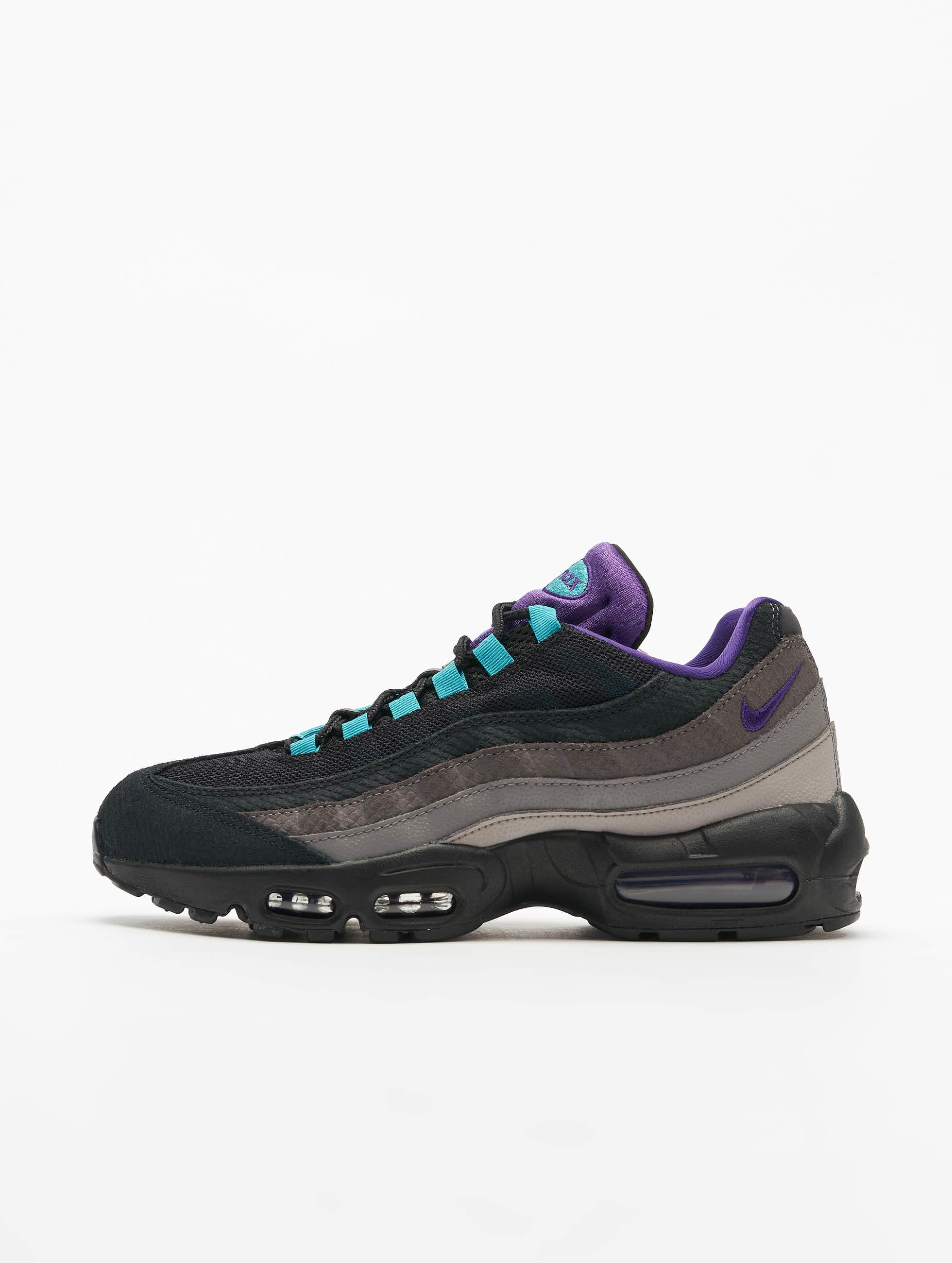 100% authentic wide range hot sale Nike Air Max 95 LV8 Sneakers Black/Court Purple/Teal Nebula