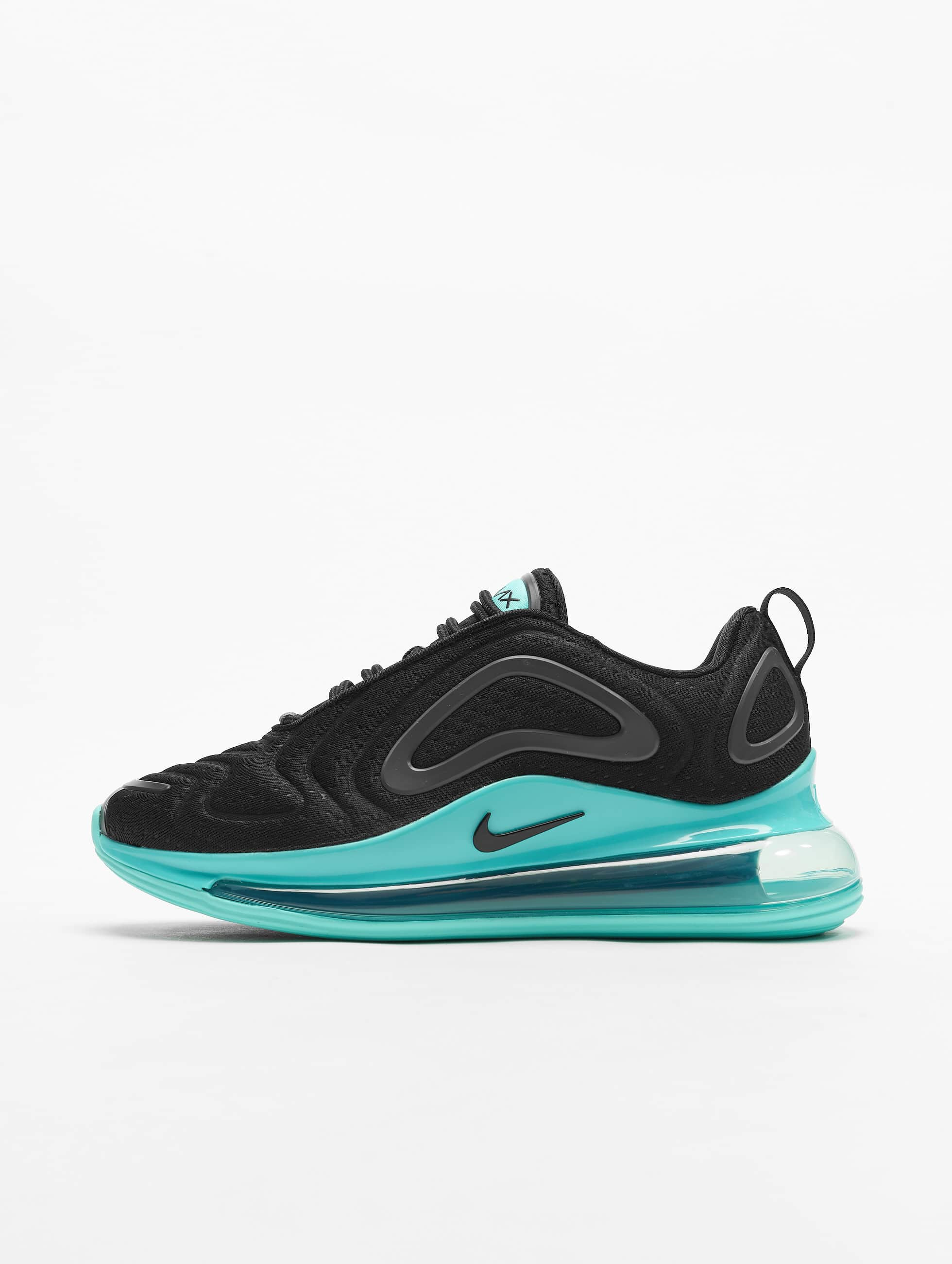 Nike Air Max 720 Sneakers Black/Black/Aurora Green/Dark Grey
