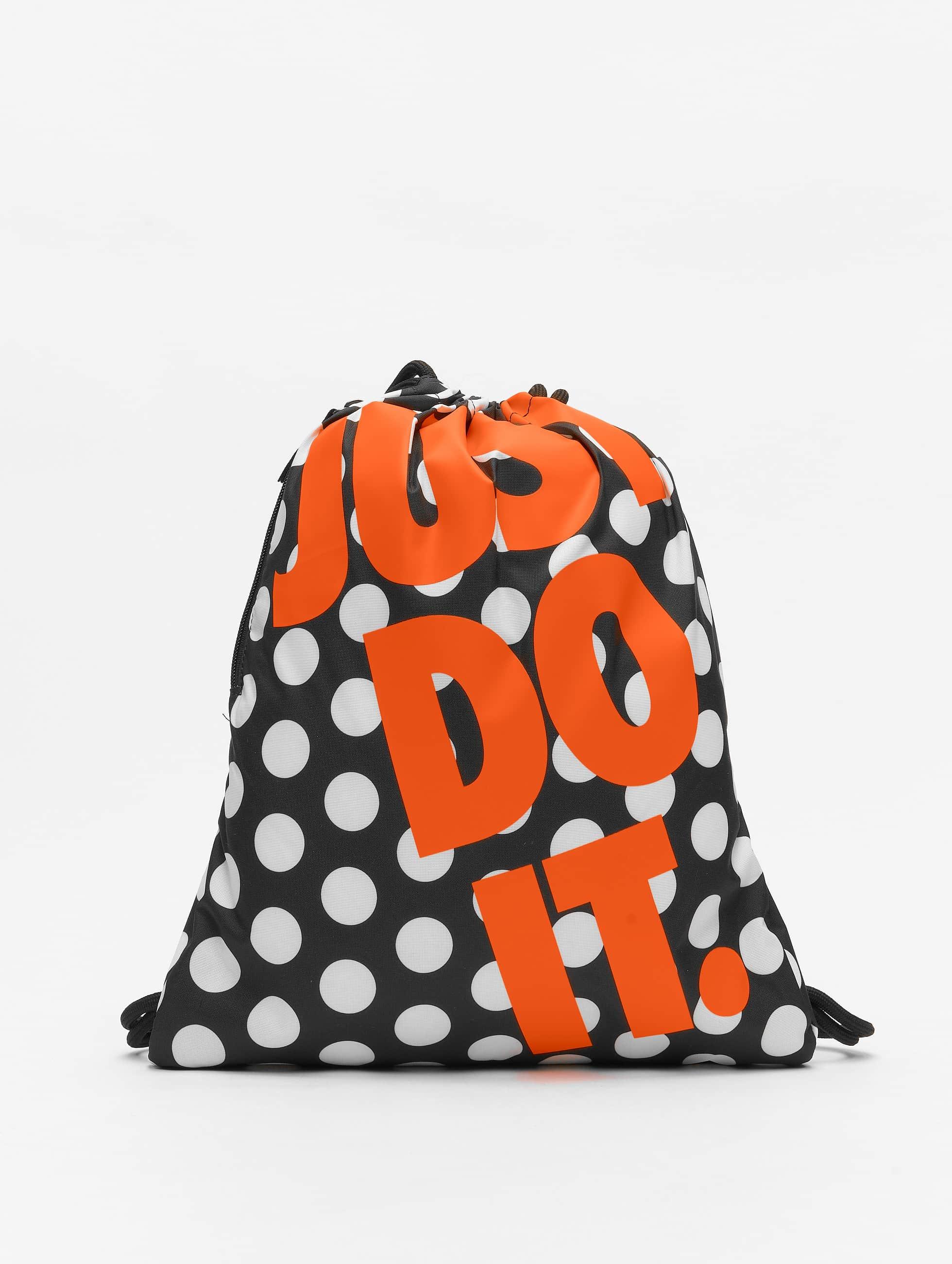 Nike Heritage GFX3 Bag BlackBlackSafety Orange