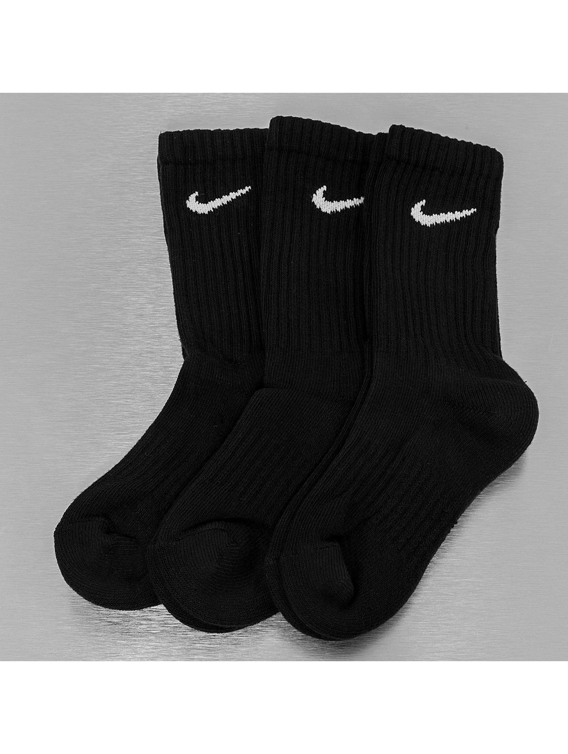 Nike Chaussettes Value Cotton Crew noir