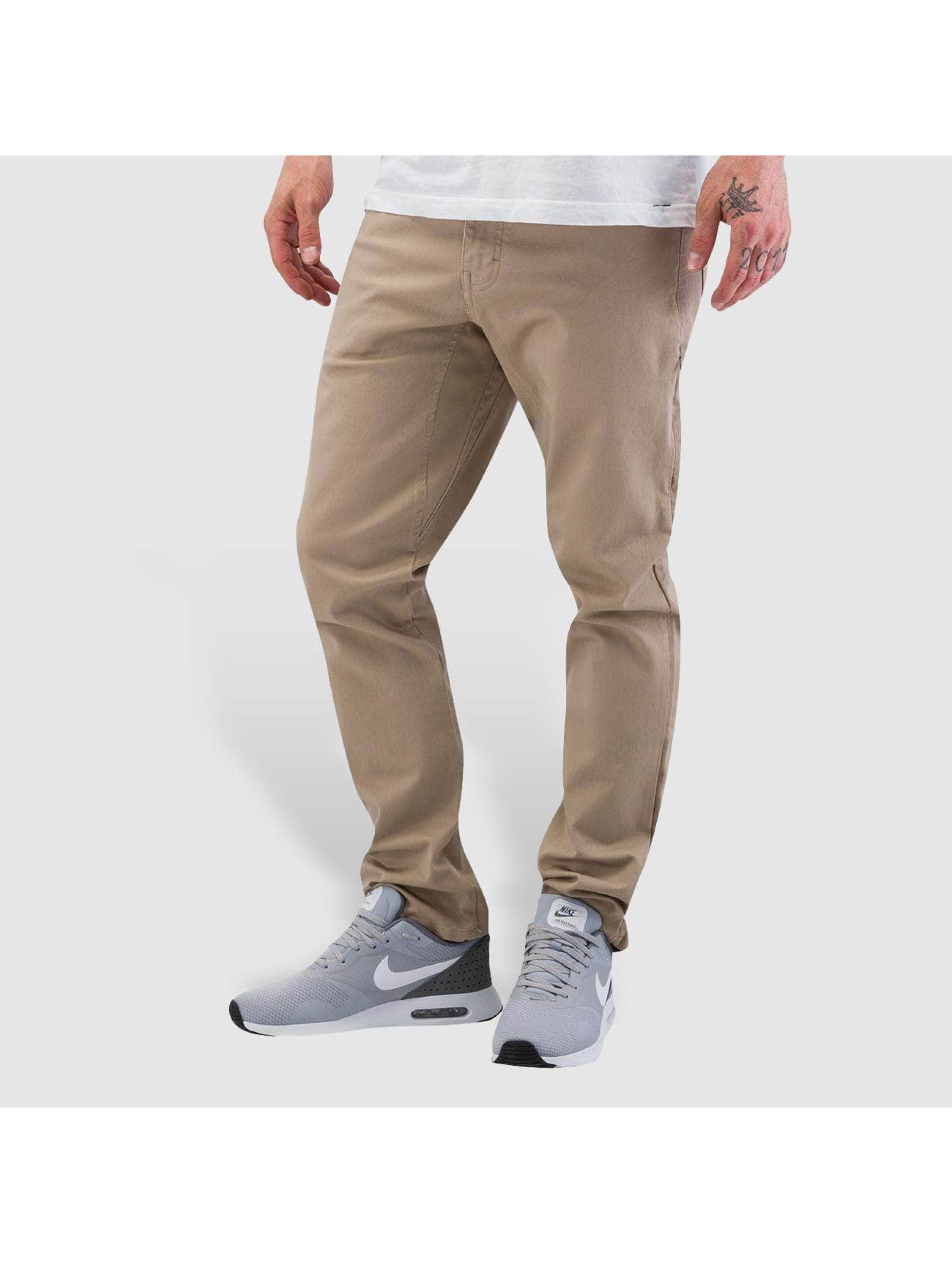 Nike Chinot/Kangashousut SB 5 Pocket khakiruskea