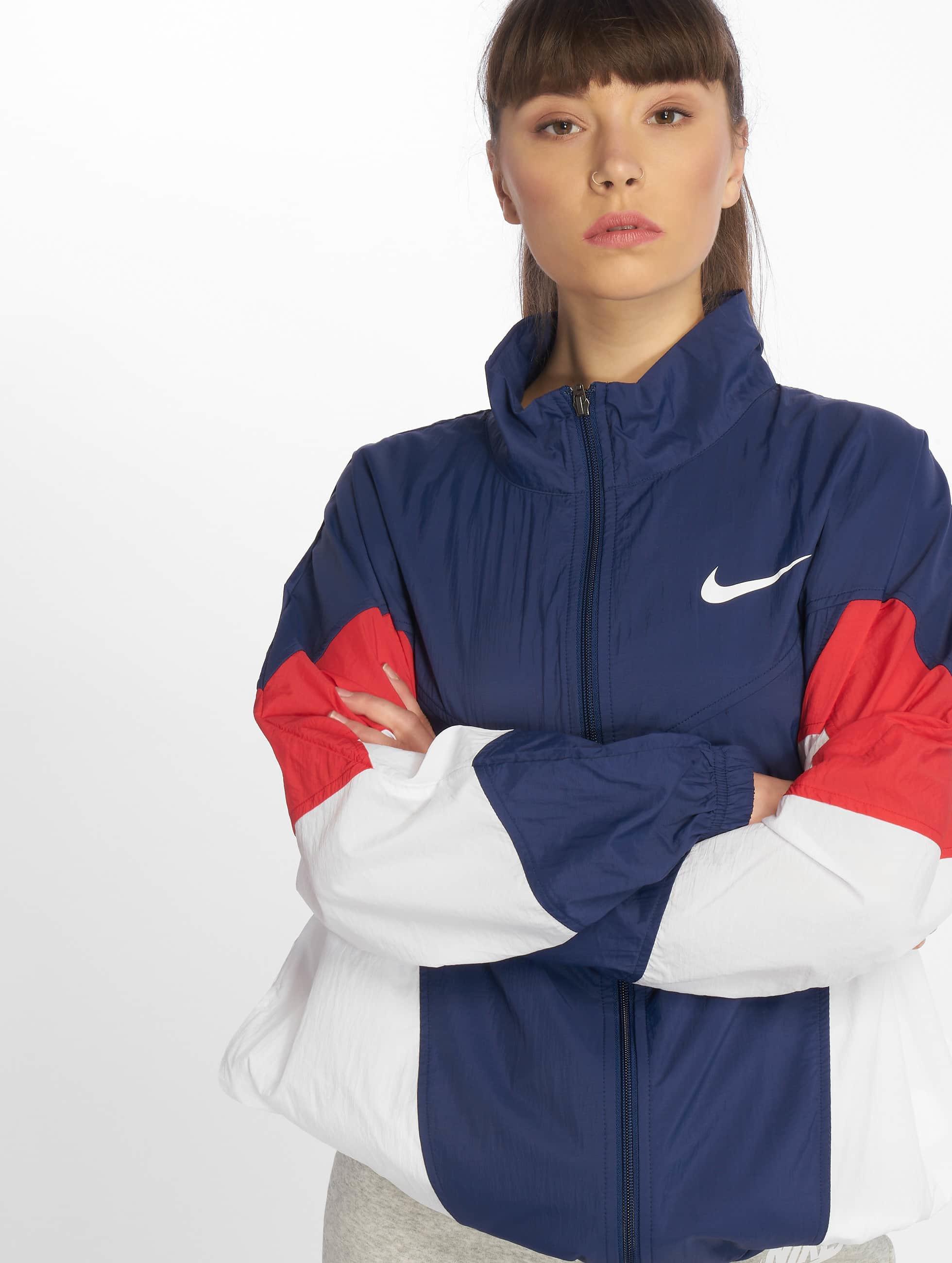 6050ade88df Nike Sportswear Windrunner Jacket Blue Void/University Red/White/White