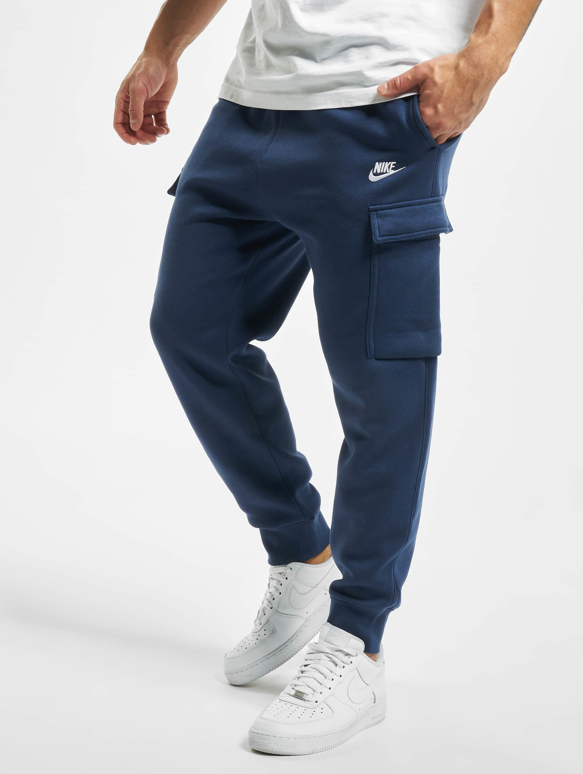 Nike Club Cargo Sweat Pants Midnight NavyMidnight NavyWhite