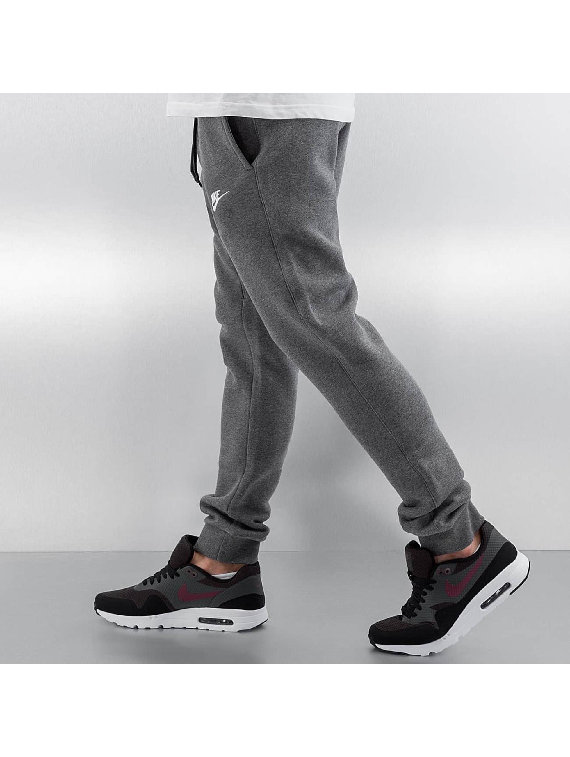 nike nsw flc club gris homme jogging nike acheter pas cher pantalon 257542. Black Bedroom Furniture Sets. Home Design Ideas