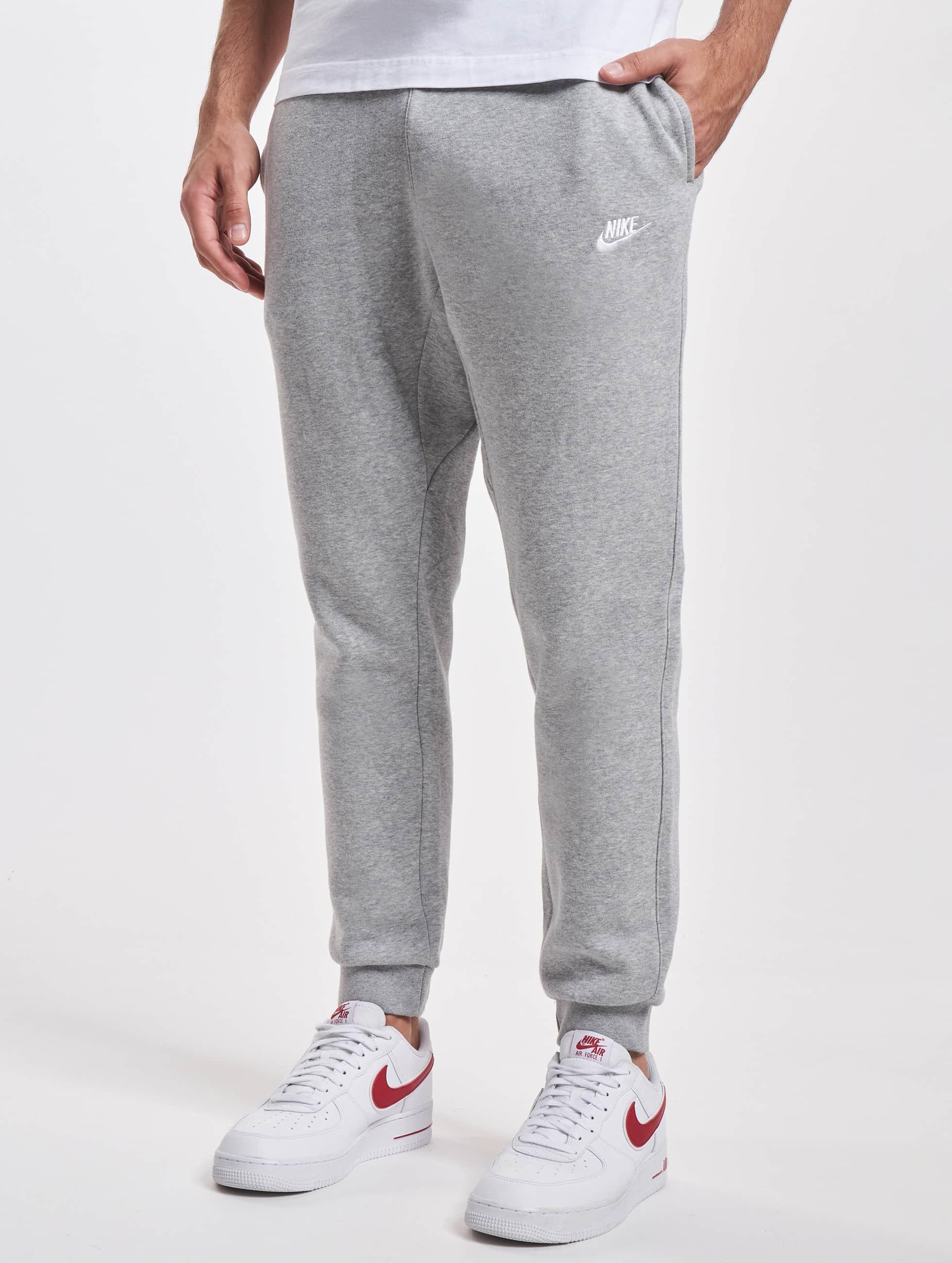 Nike joggingbroek NSW FLC CLUB grijs