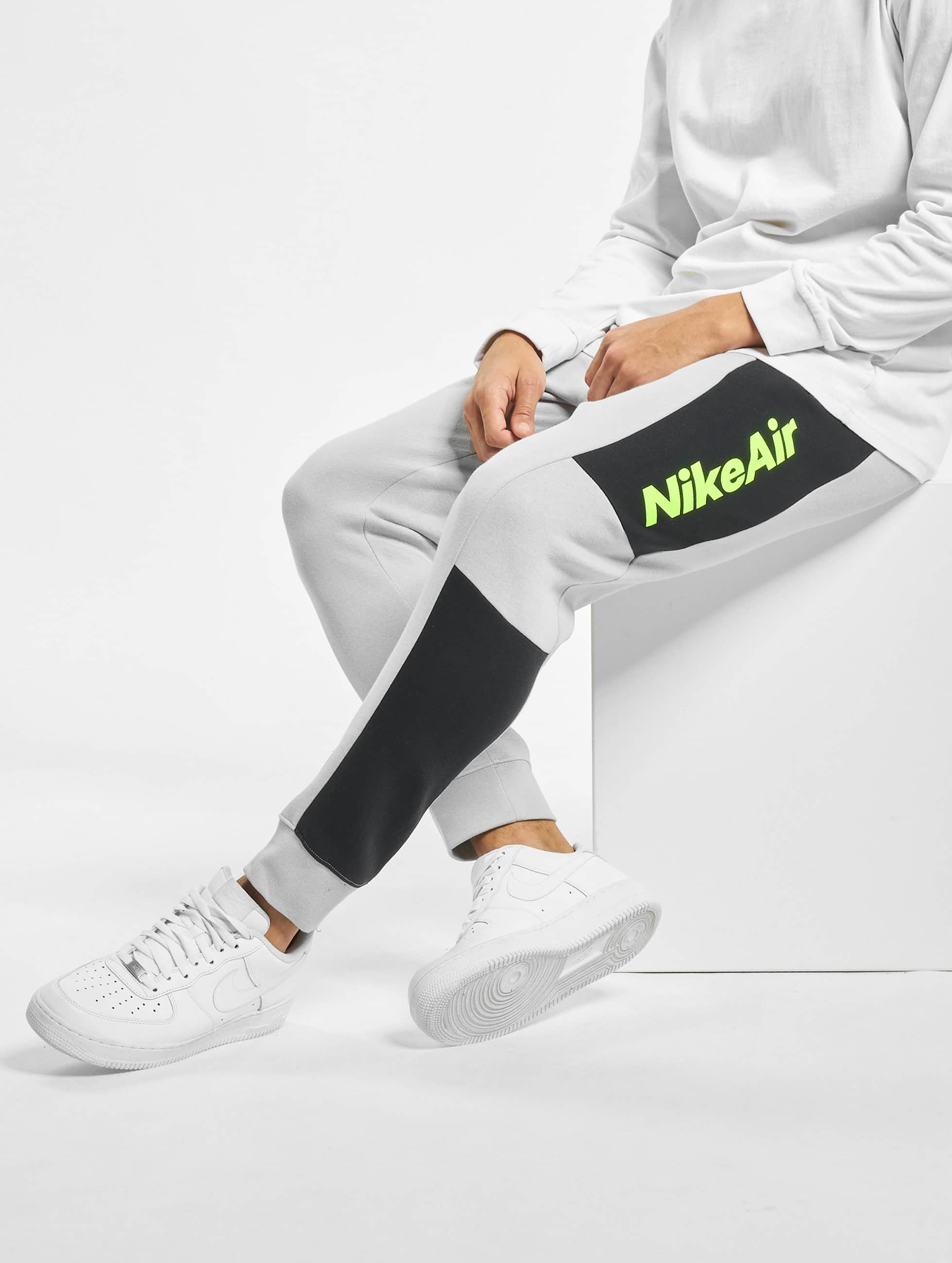 Nike Air Fleece Sweat Pants Lt Smoke GreyBlackBlackVolt
