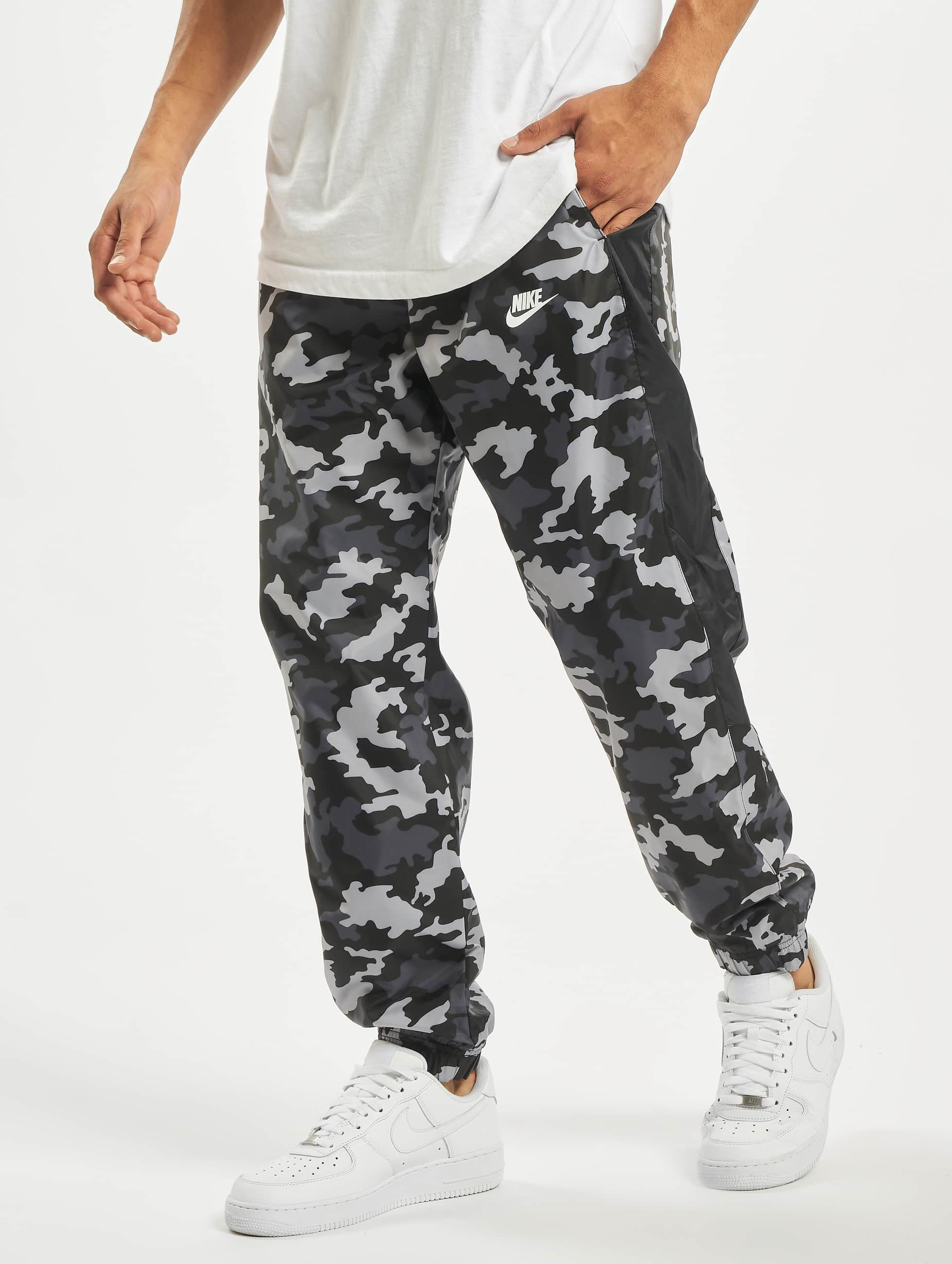 Nike CE CF Woven Camo Sweat Pants BlackBlackSummit White