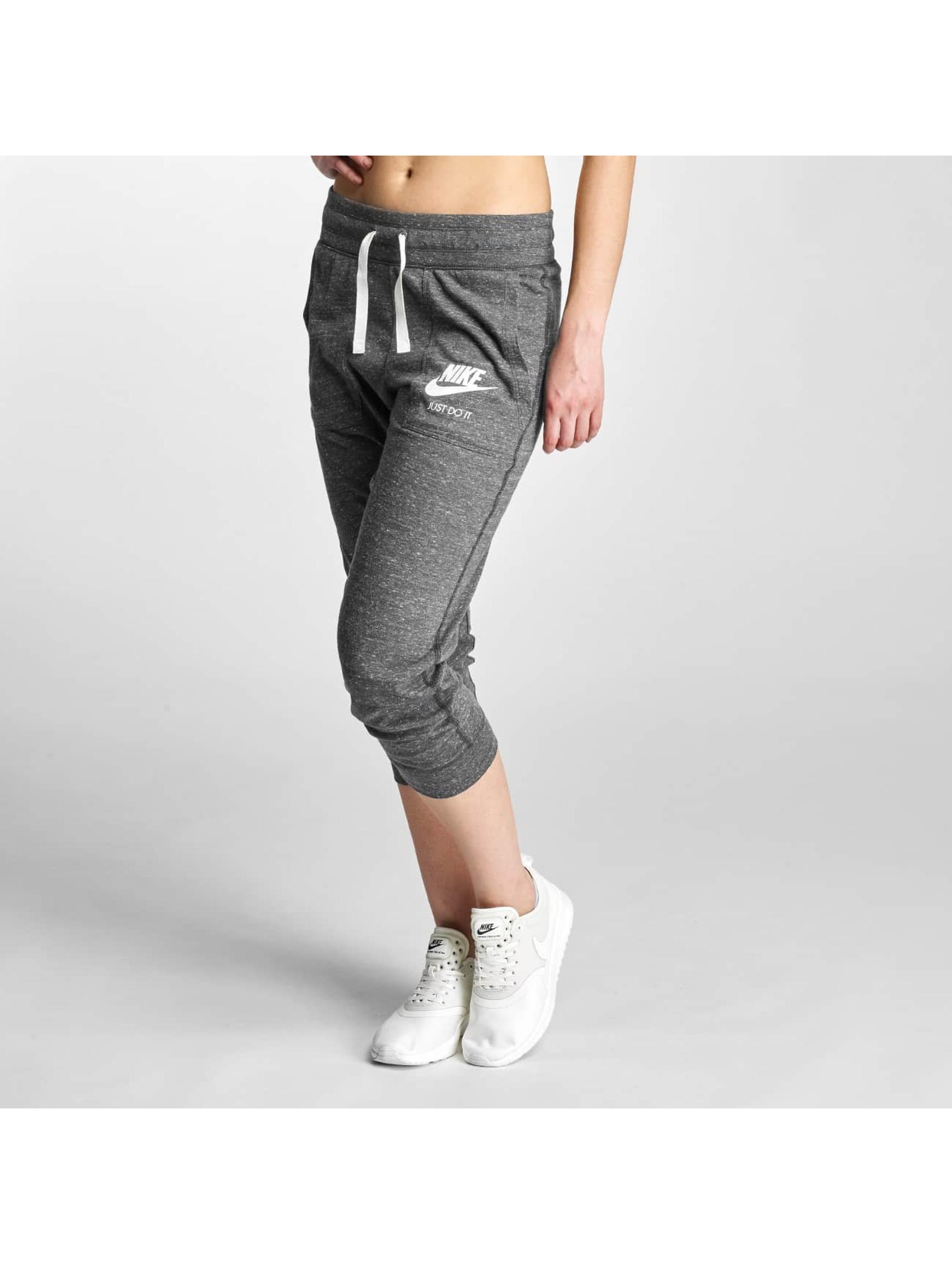 nike damen jogginghose gym vintage in grau 308434. Black Bedroom Furniture Sets. Home Design Ideas