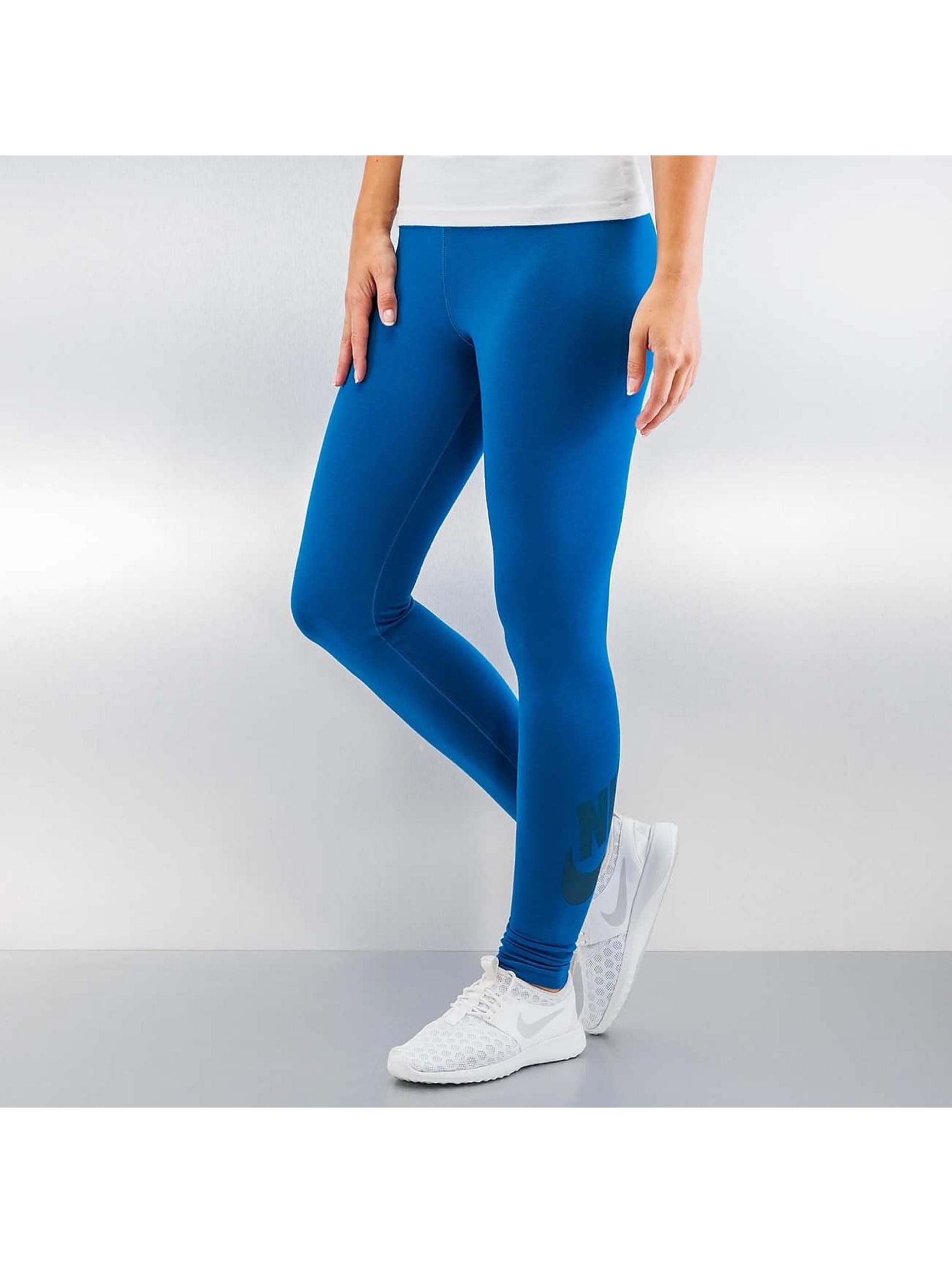 Nike Legíny/Tregíny Leg-A-See Logo modrá