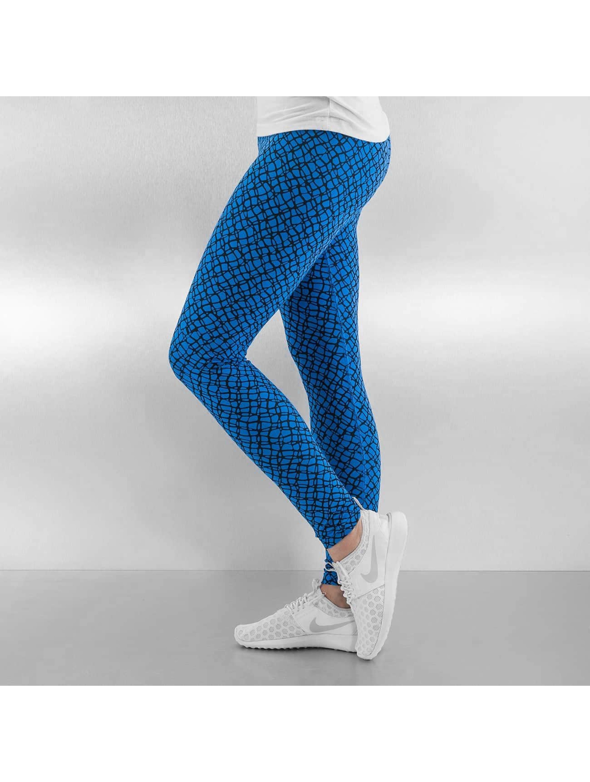 Nike Legging Club Printed blau