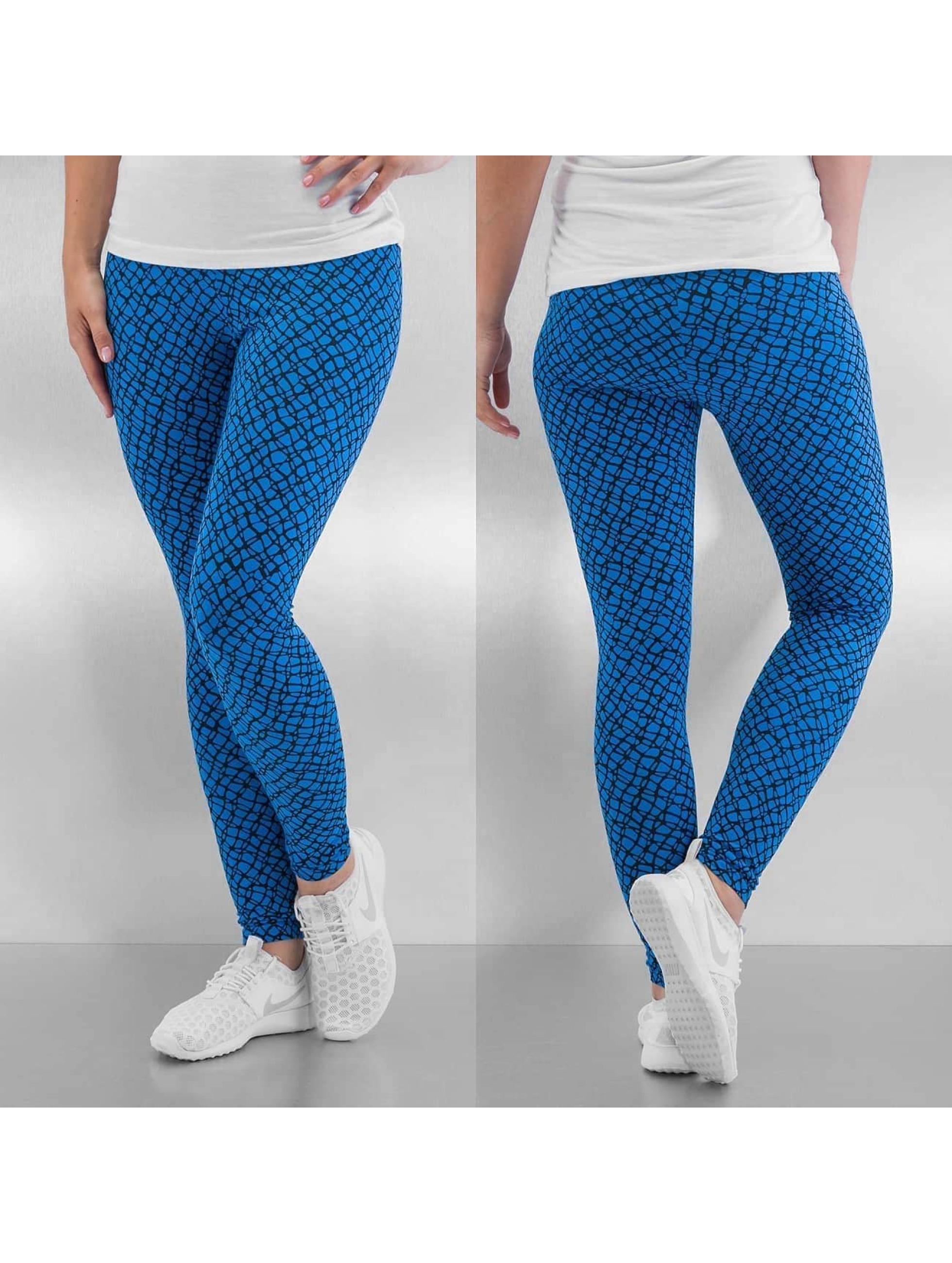 Nike Legging Club Printed bleu