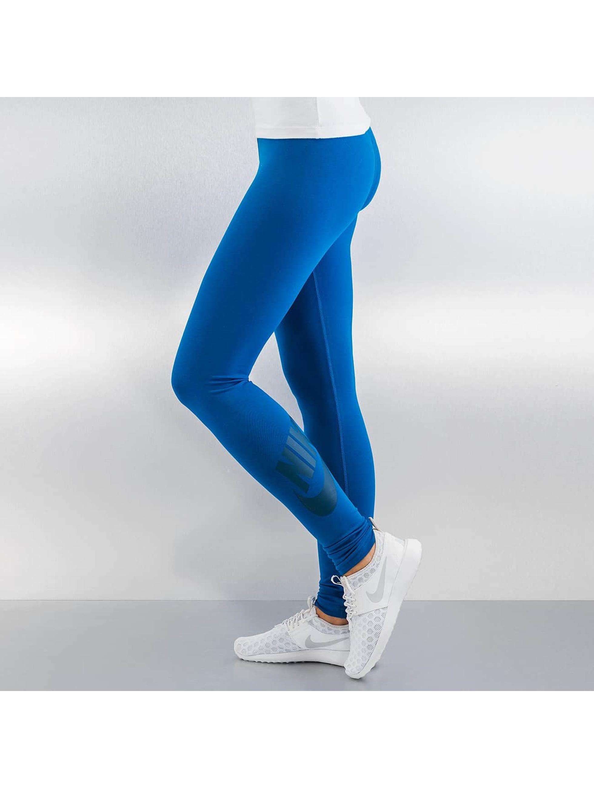 Nike Legging Leg-A-See Logo bleu