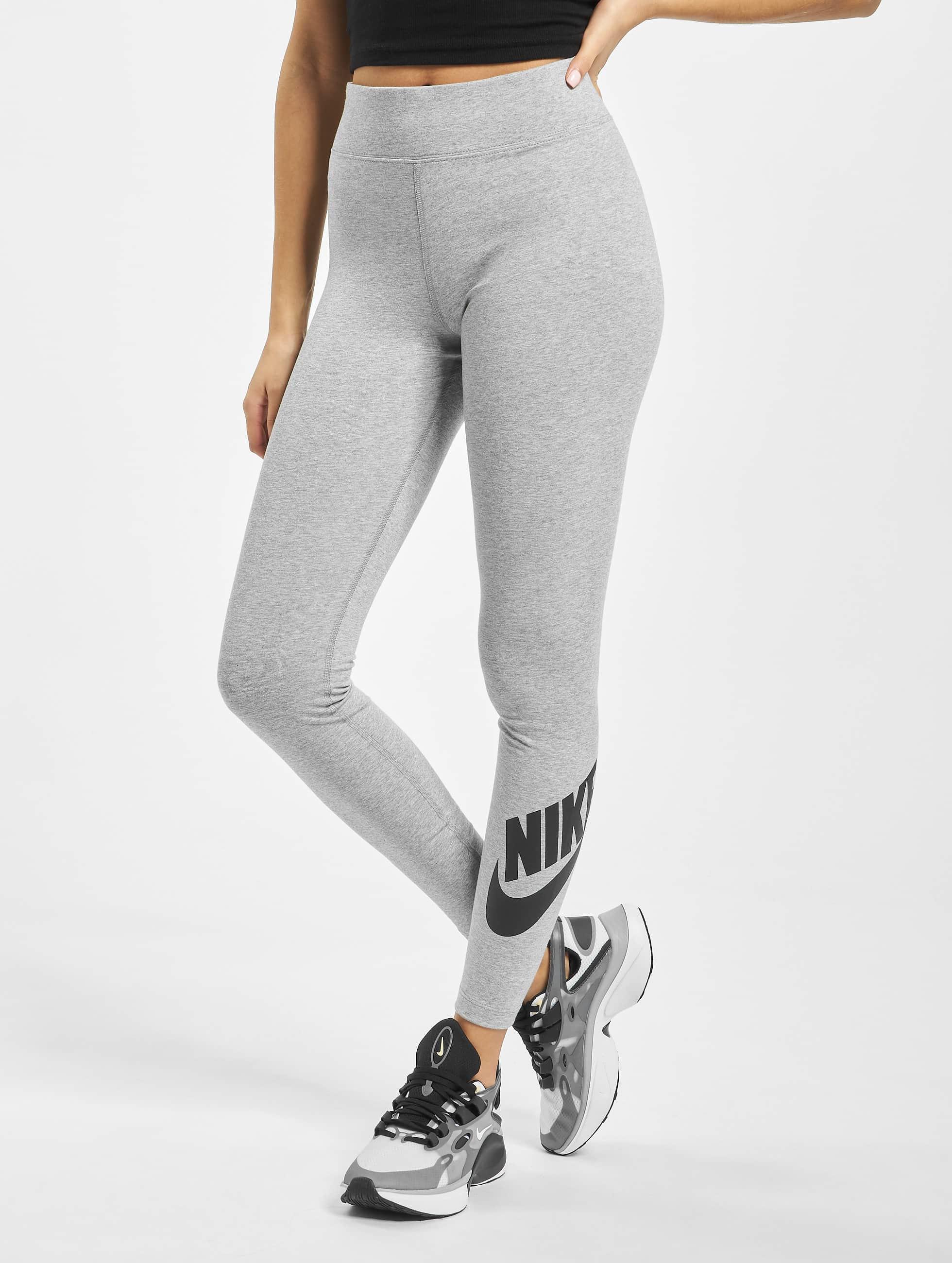 Nike Legasee HW Futura Leggings Dark Grey HeatherBlack