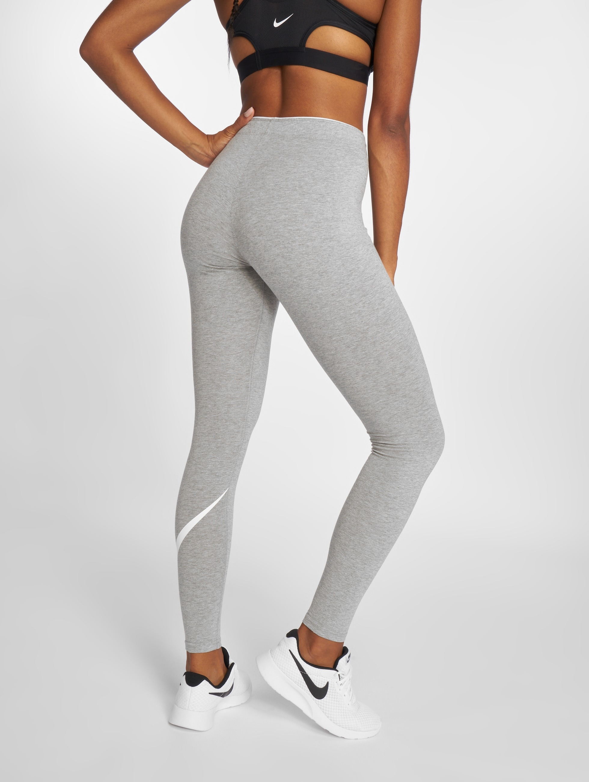Nike Legging Club Logo 2 gris