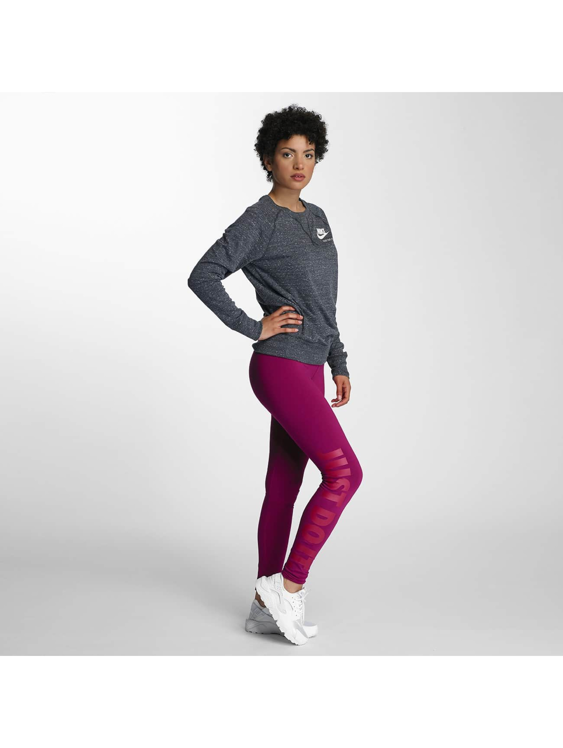 nike damen legging legasee just do it in pink 308568