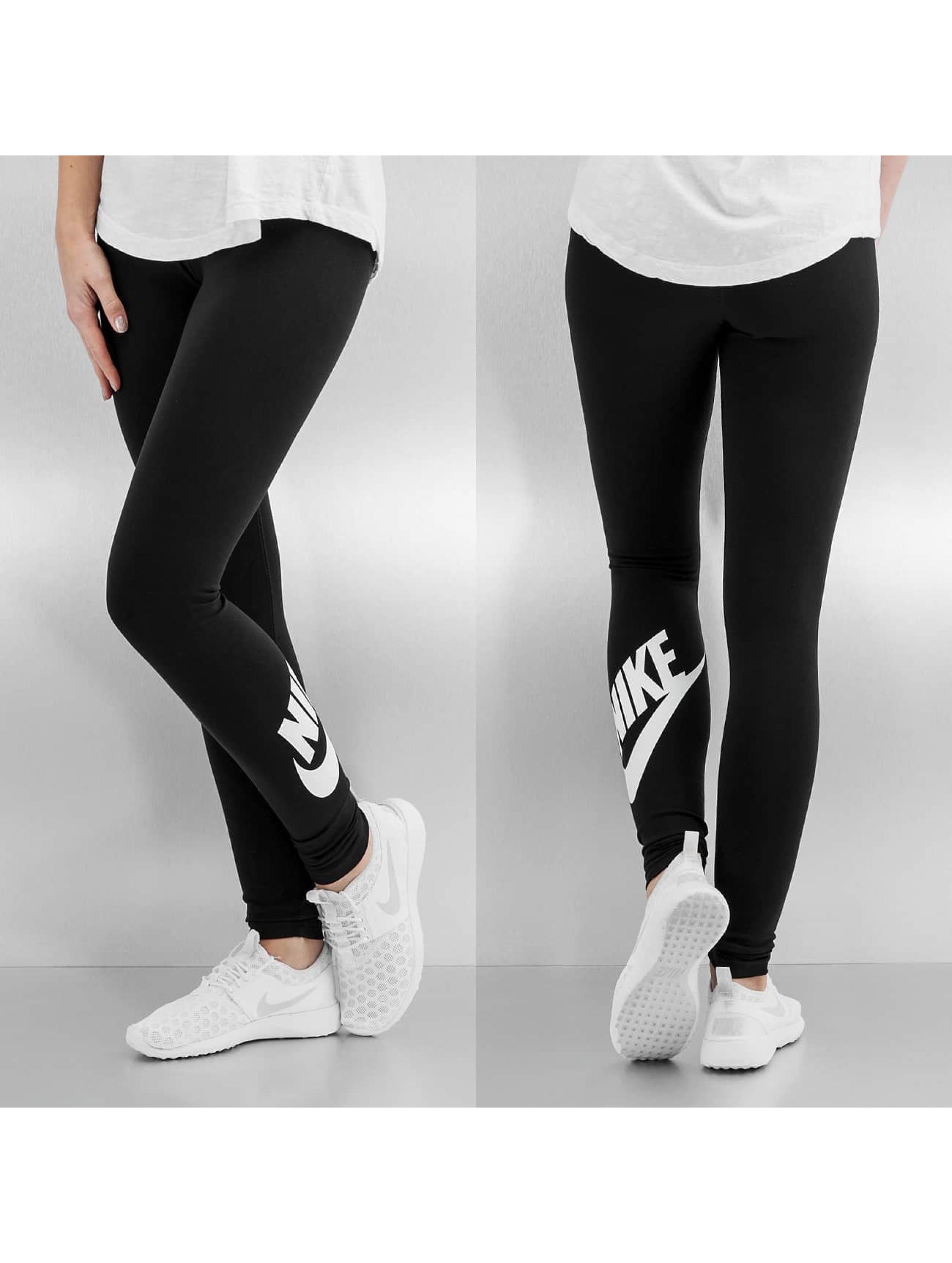 Nike Legging Leg-A-See Logo zwart