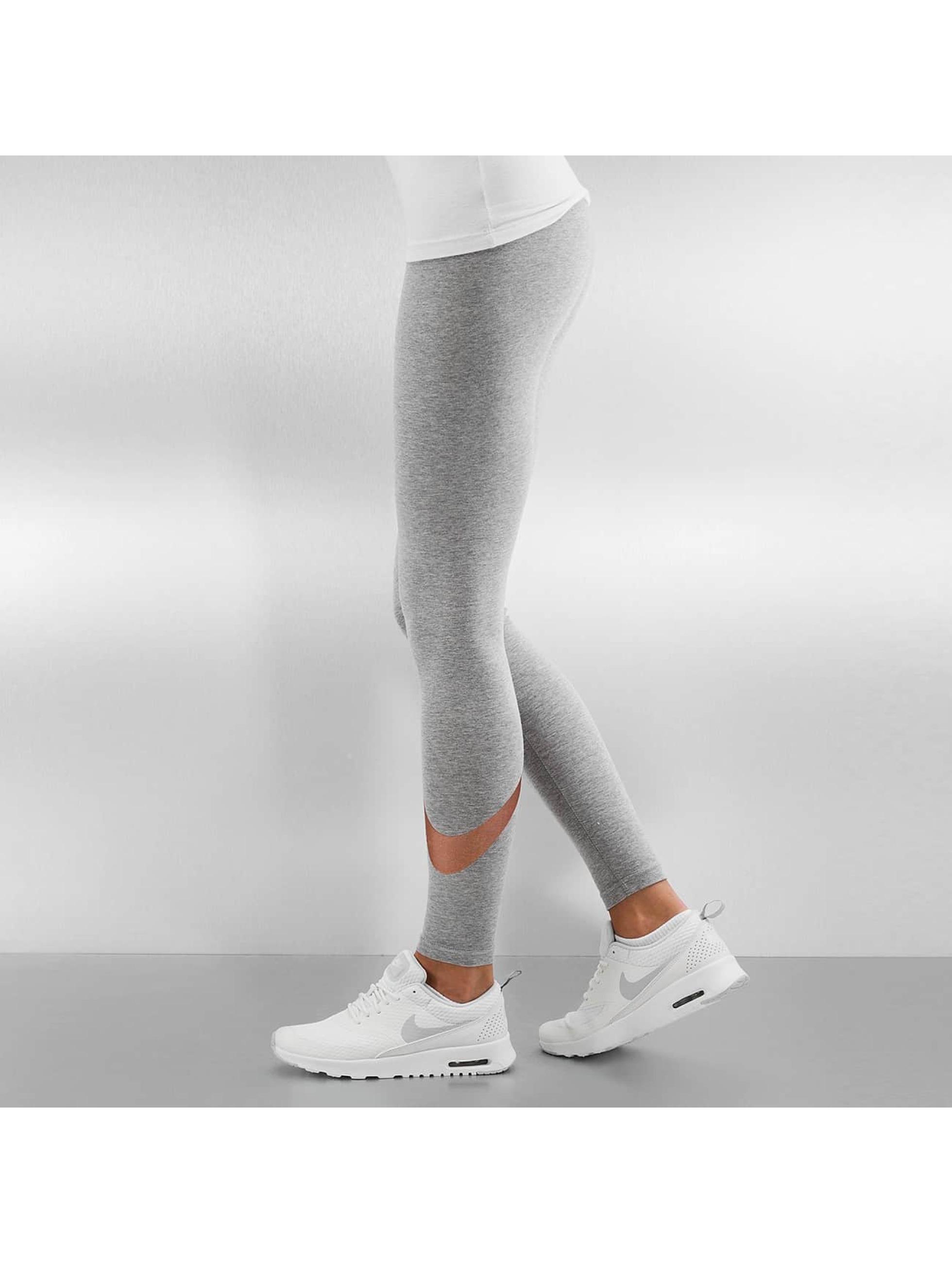 Nike Leggings/Treggings Club Logo 2 szary