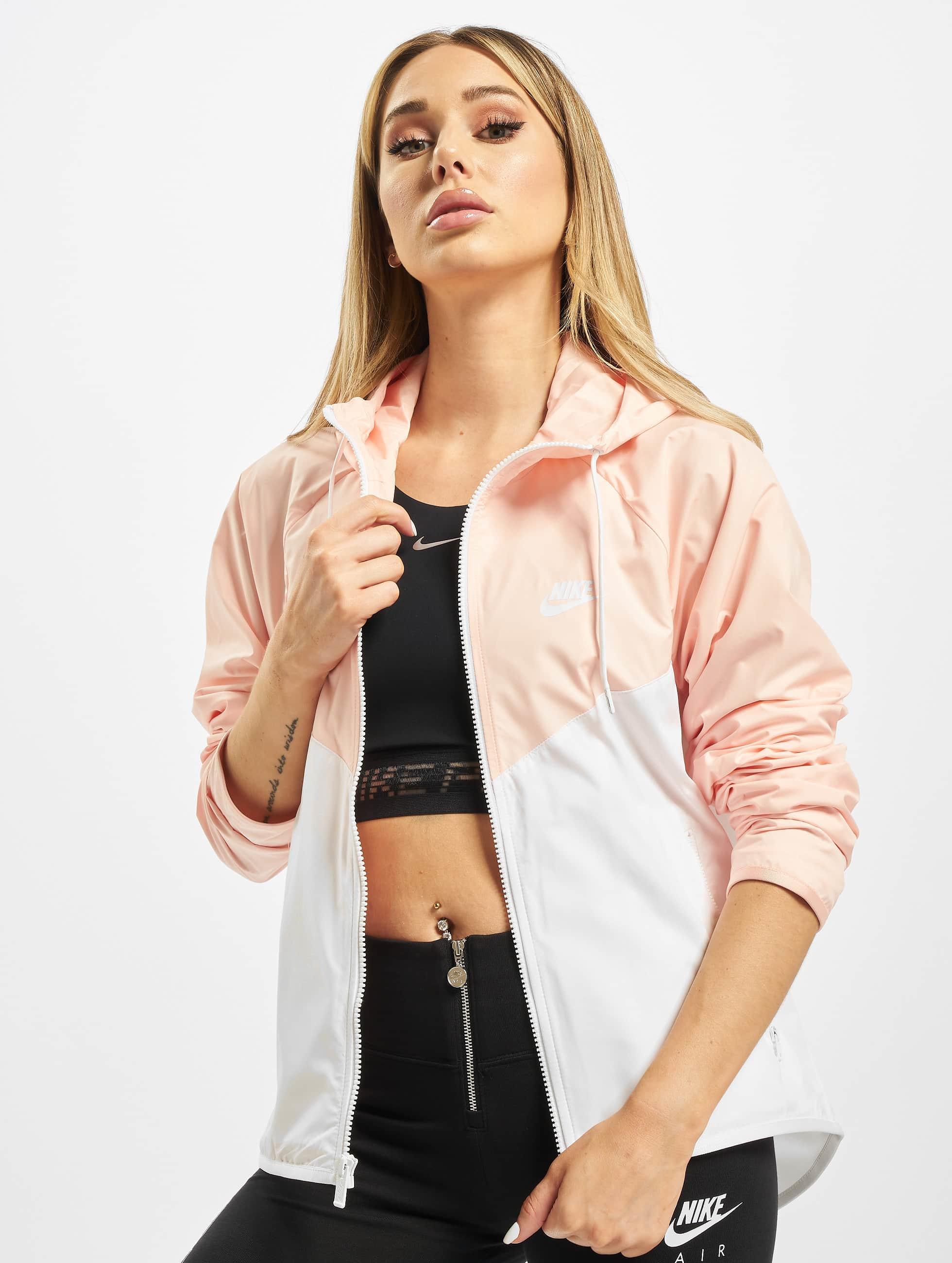 Nike Windrunner Transition Jacket Pink Foam BlackBlue Gaze