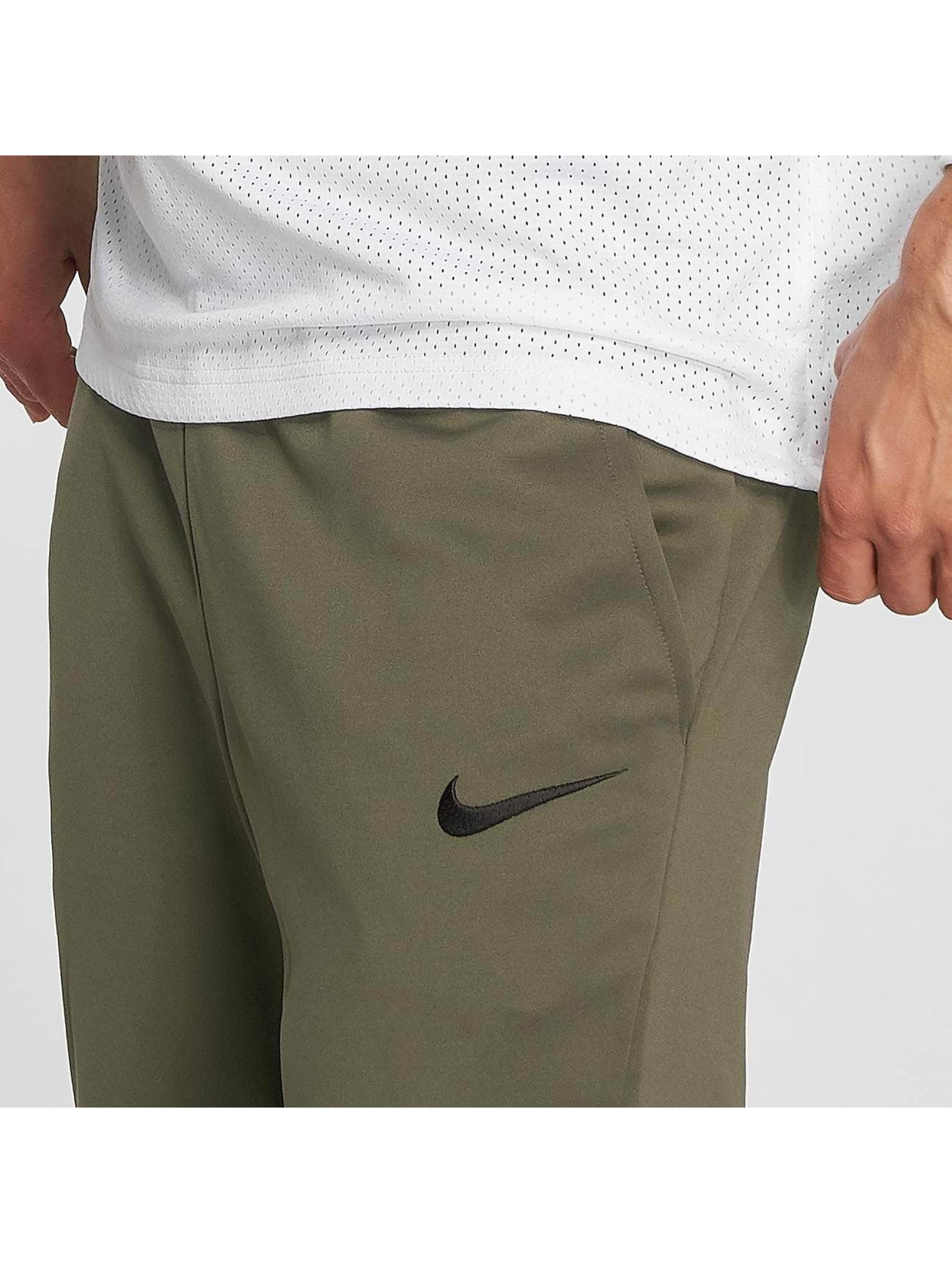 Nike Pantalón deportivo Therma verde