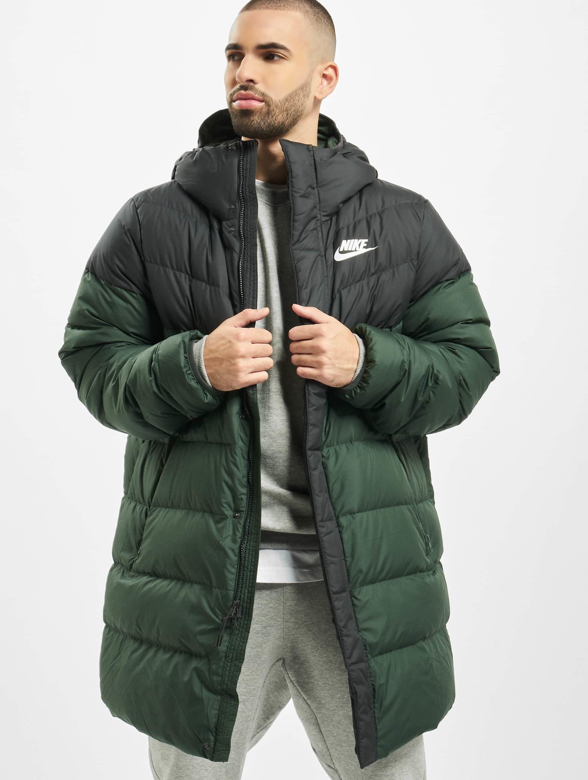 Nike Down Fill Windrunner Parka HD Rus Coat Off NoirGalactic JadeSail