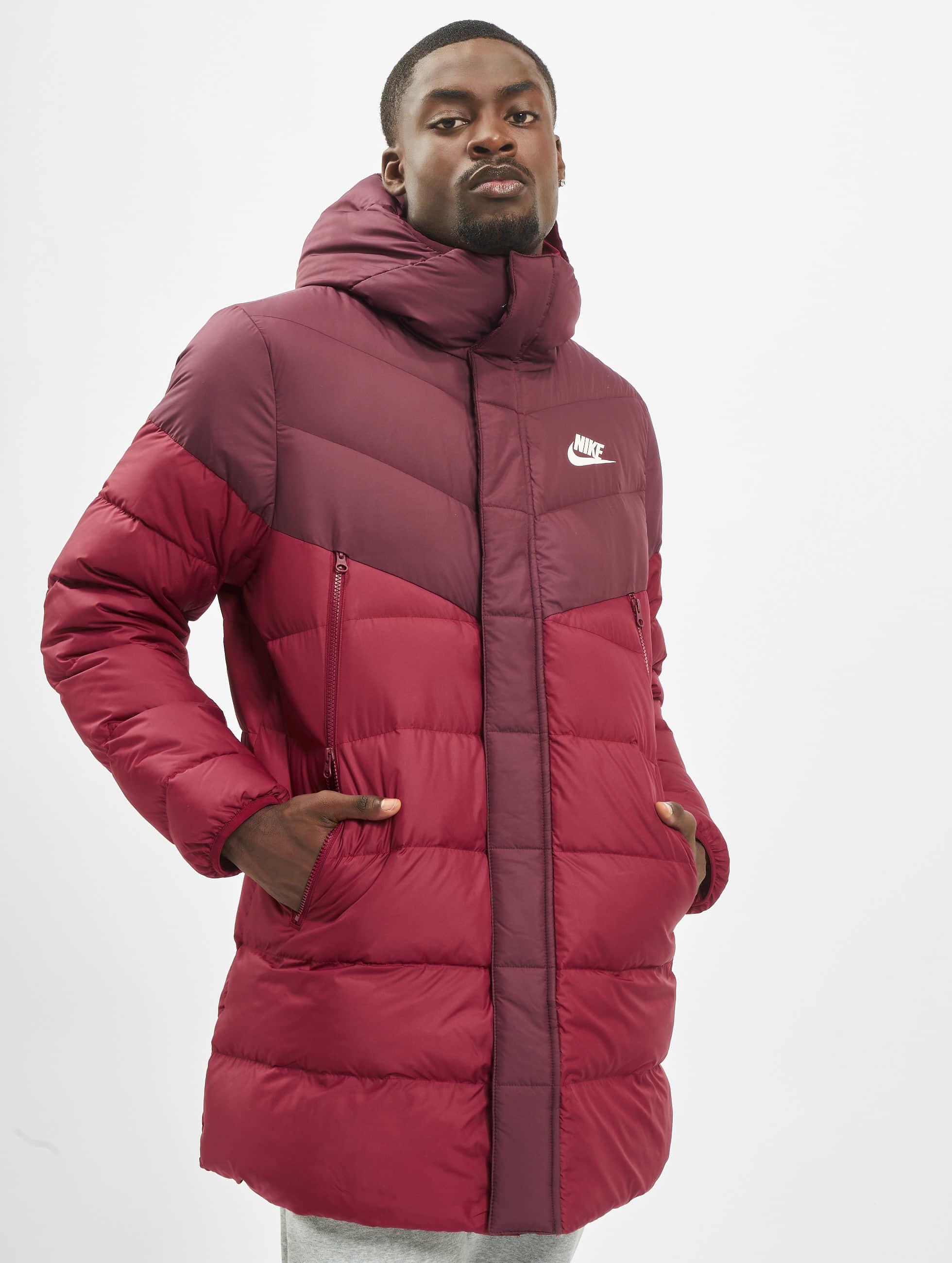 Nike Down Fill Windrunner Parka HD RUS Coat Night MaroonTeam RedTeam RedSail