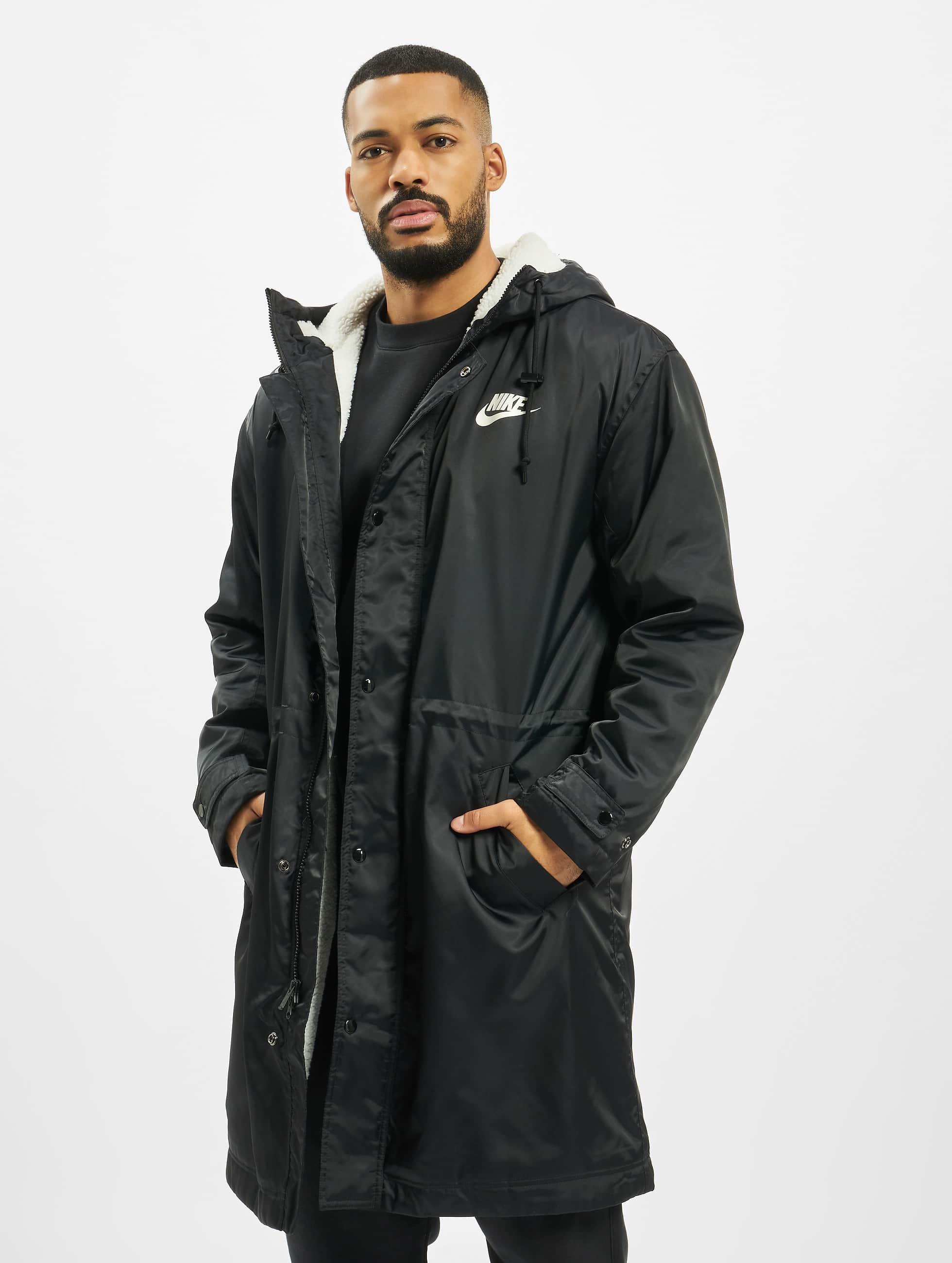 Nike Synthetic Fill Parka Coat BlackSailSail