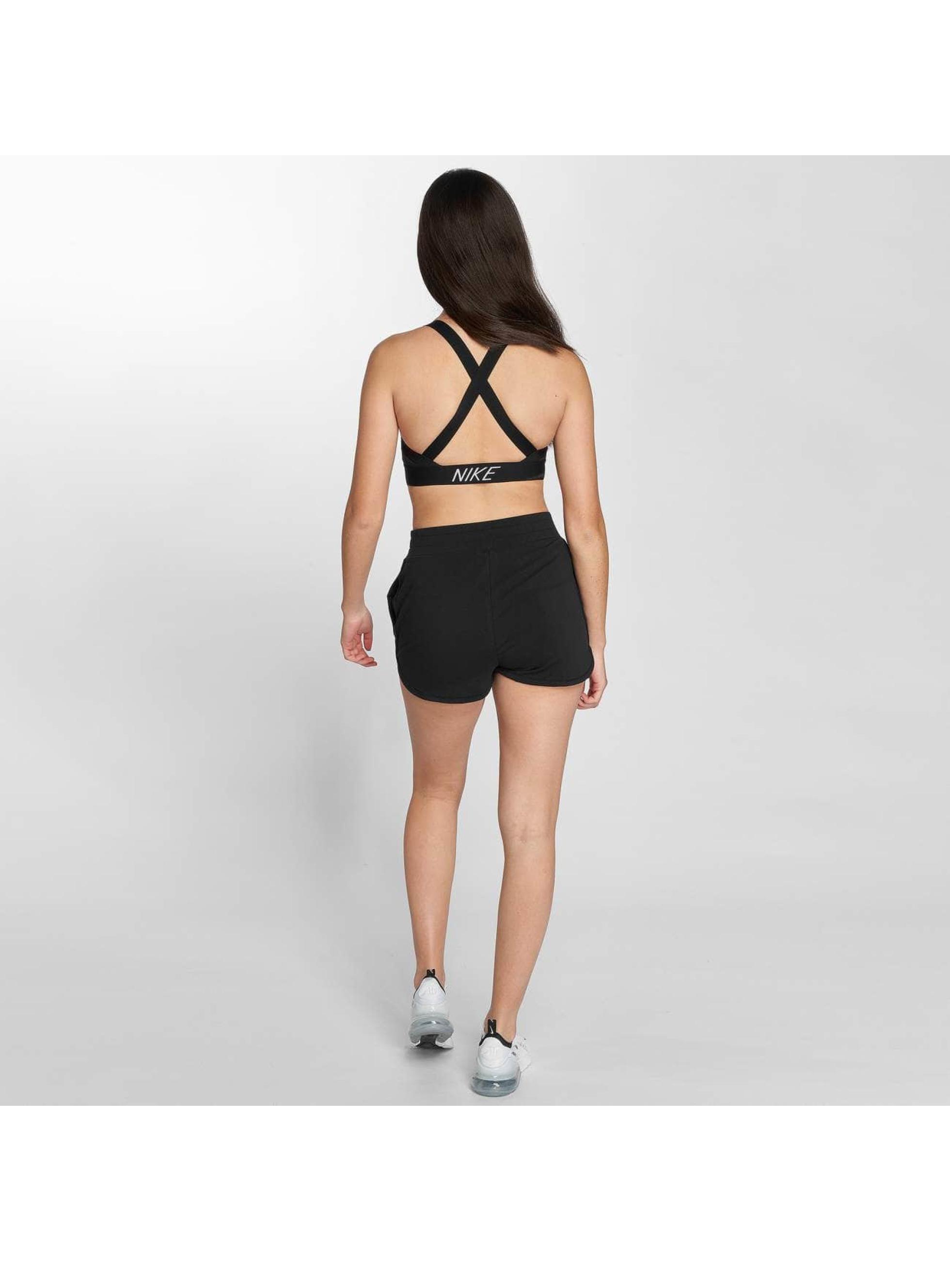 Nike Performance Športová podprsenka Pro Indy Logo Back èierna