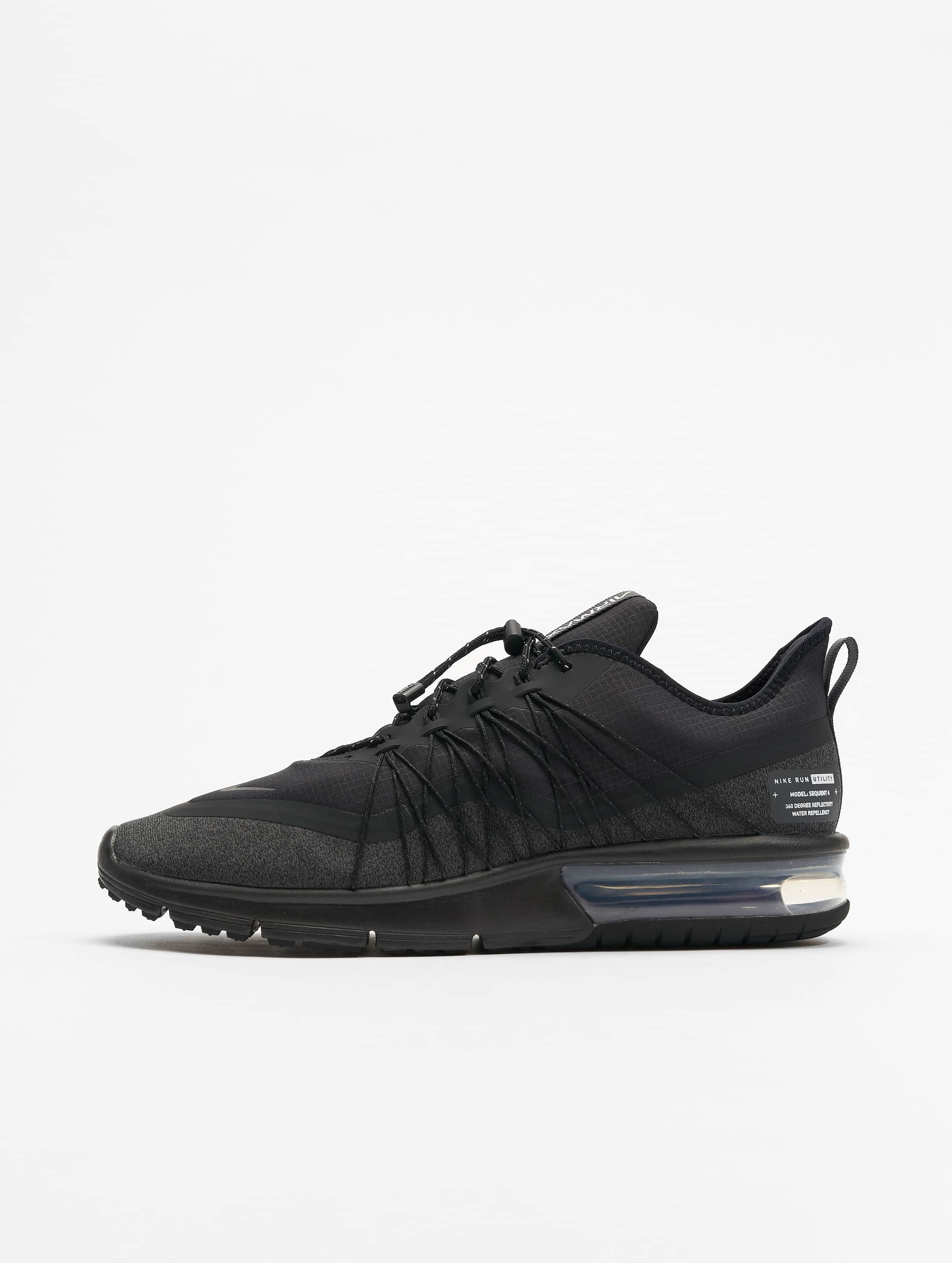 d986b76beca1ac Nike Performance | Max Sequent 4 Shield noir Homme Baskets 602133